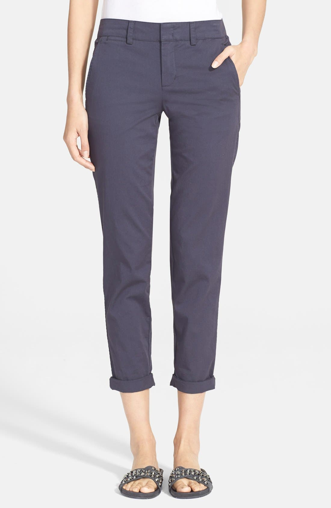 Main Image - Vince Boyfriend Trousers