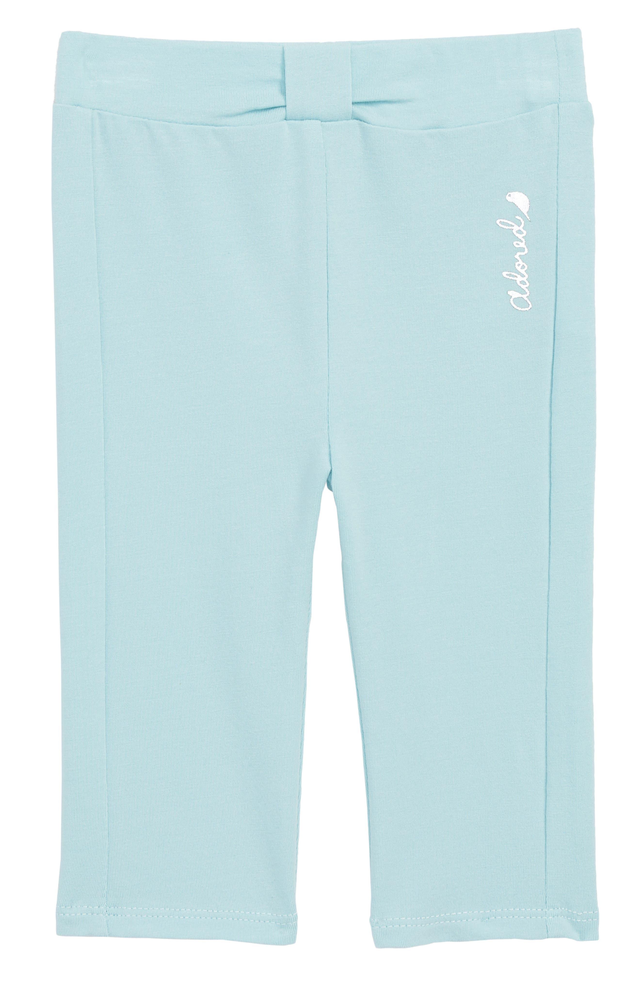 Leggings,                         Main,                         color, Turquoise