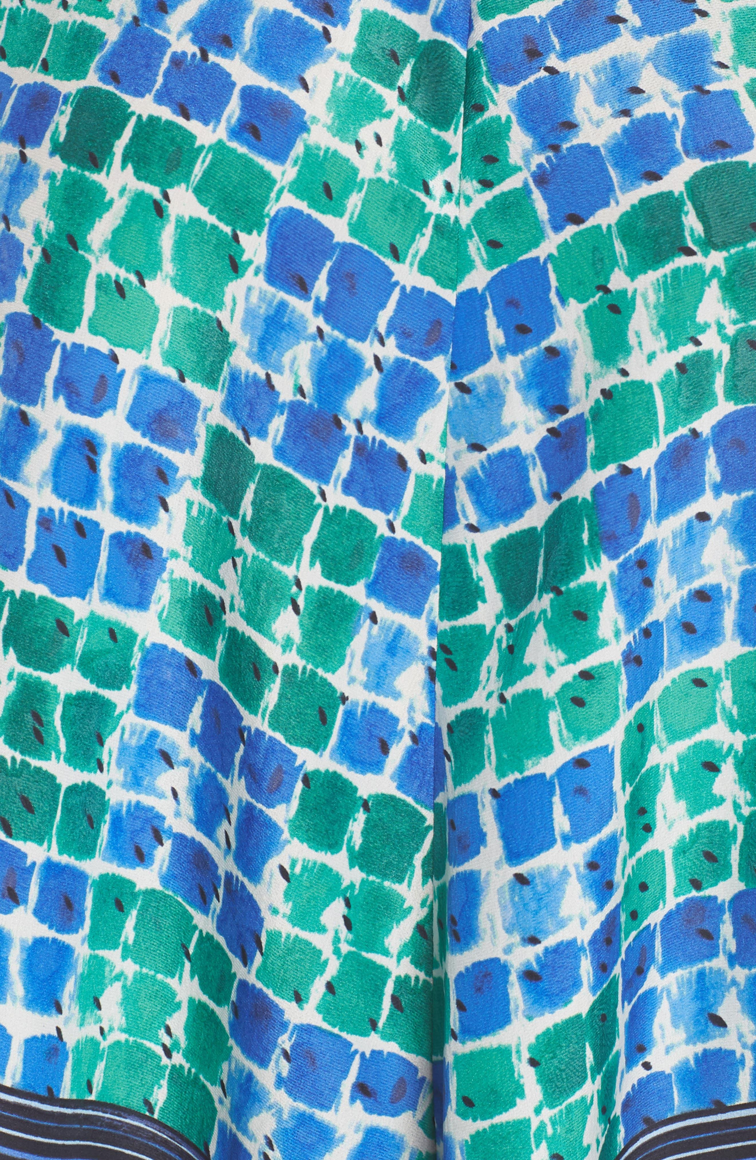 DJ VU Print Tank,                             Alternate thumbnail 5, color,                             Multi