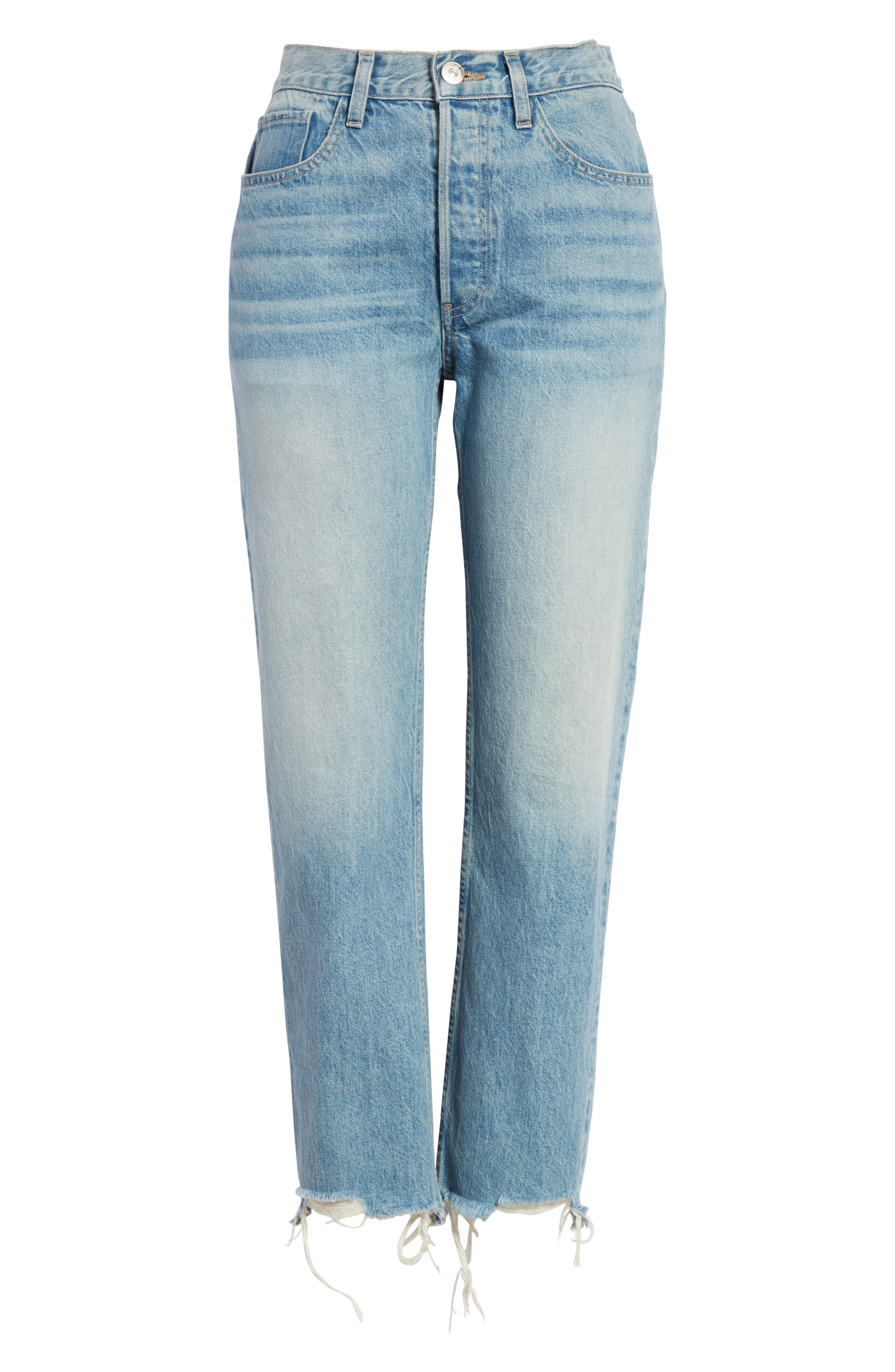 W3 Higher Ground Distressed Ankle Slim Fit Jeans,                             Alternate thumbnail 7, color,                             Casey
