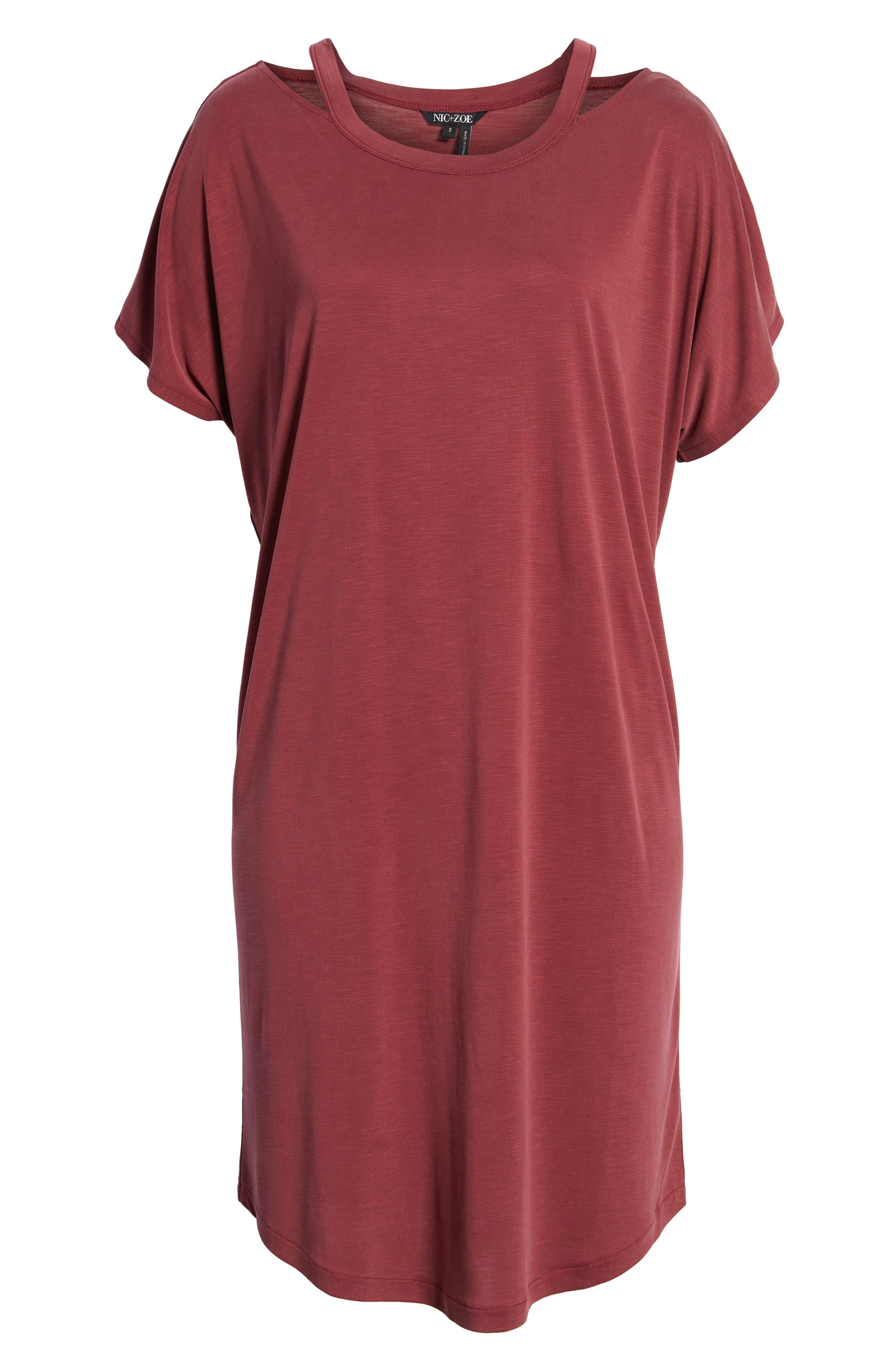 Open Road Dress,                             Alternate thumbnail 7, color,                             Washed Raisin