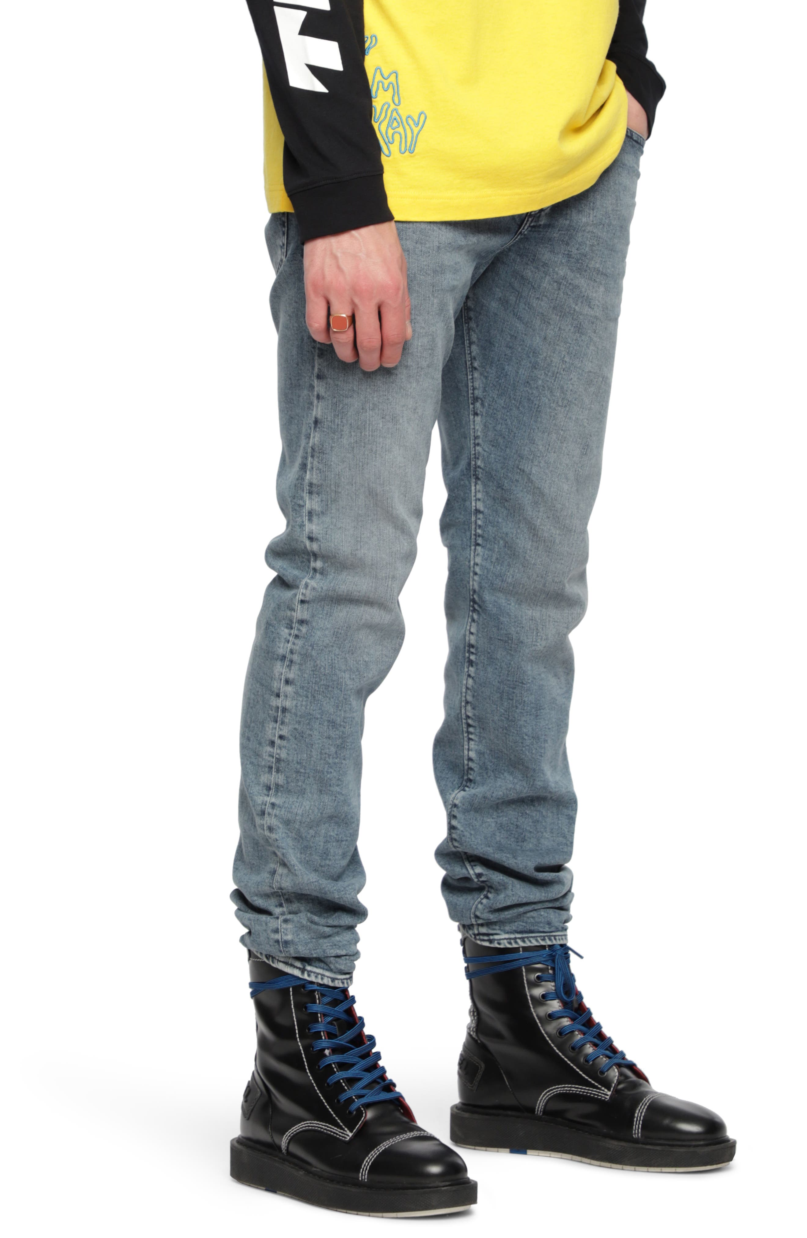 Buster Slim Fit Straight Leg Jeans,                             Alternate thumbnail 3, color,                             084Ux