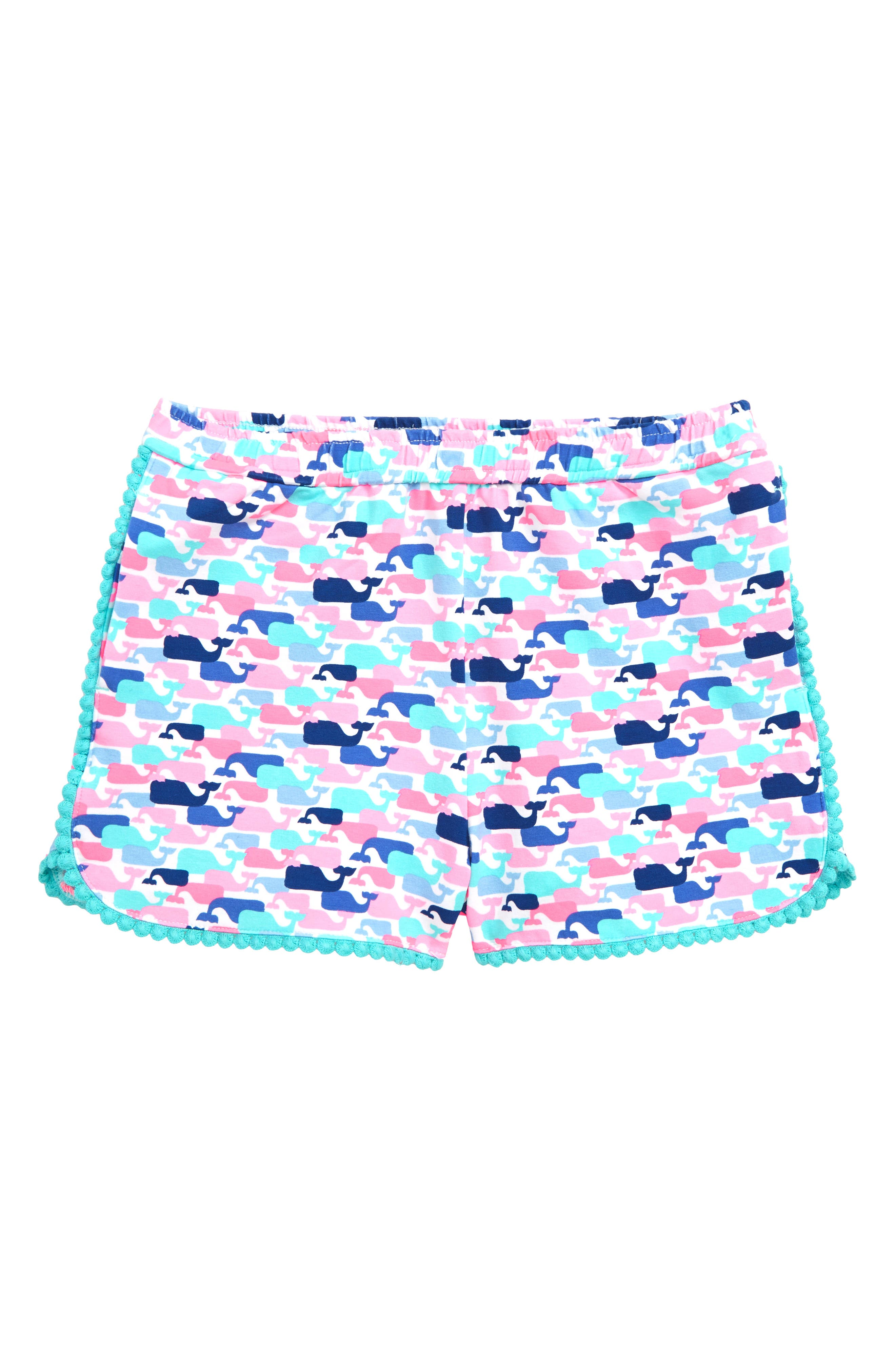 vineyard vines Whale Print Shorts (Toddler Girls, Little Girls & Big Girls)