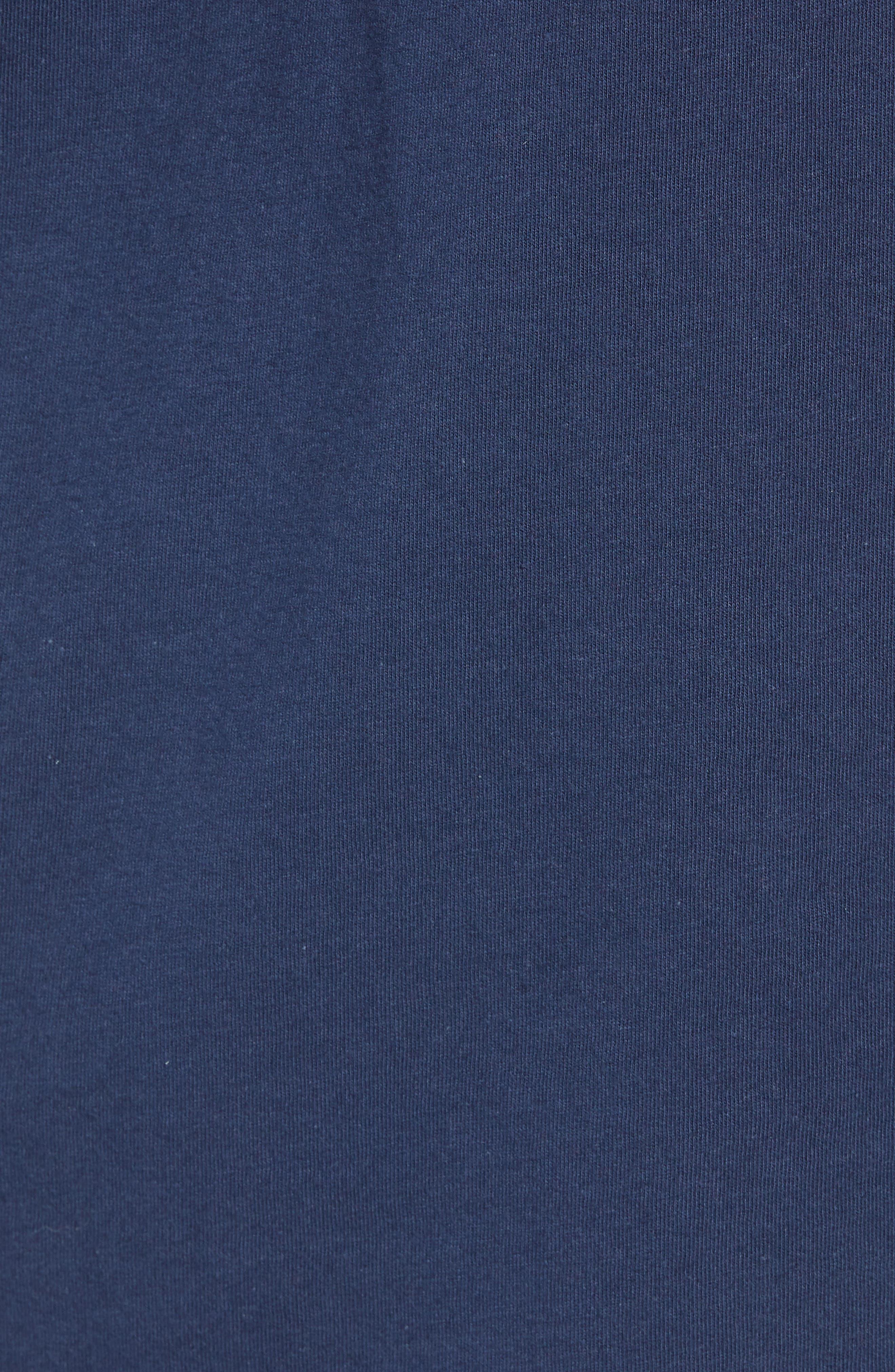 x Marvel<sup>®</sup> Black Panther T-Shirt,                             Alternate thumbnail 5, color,                             Dress Blues