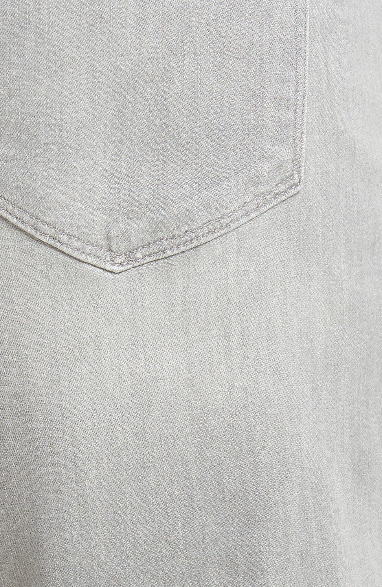 Transcend - Lennox Slim Fit Jeans,                             Alternate thumbnail 5, color,                             Mannor
