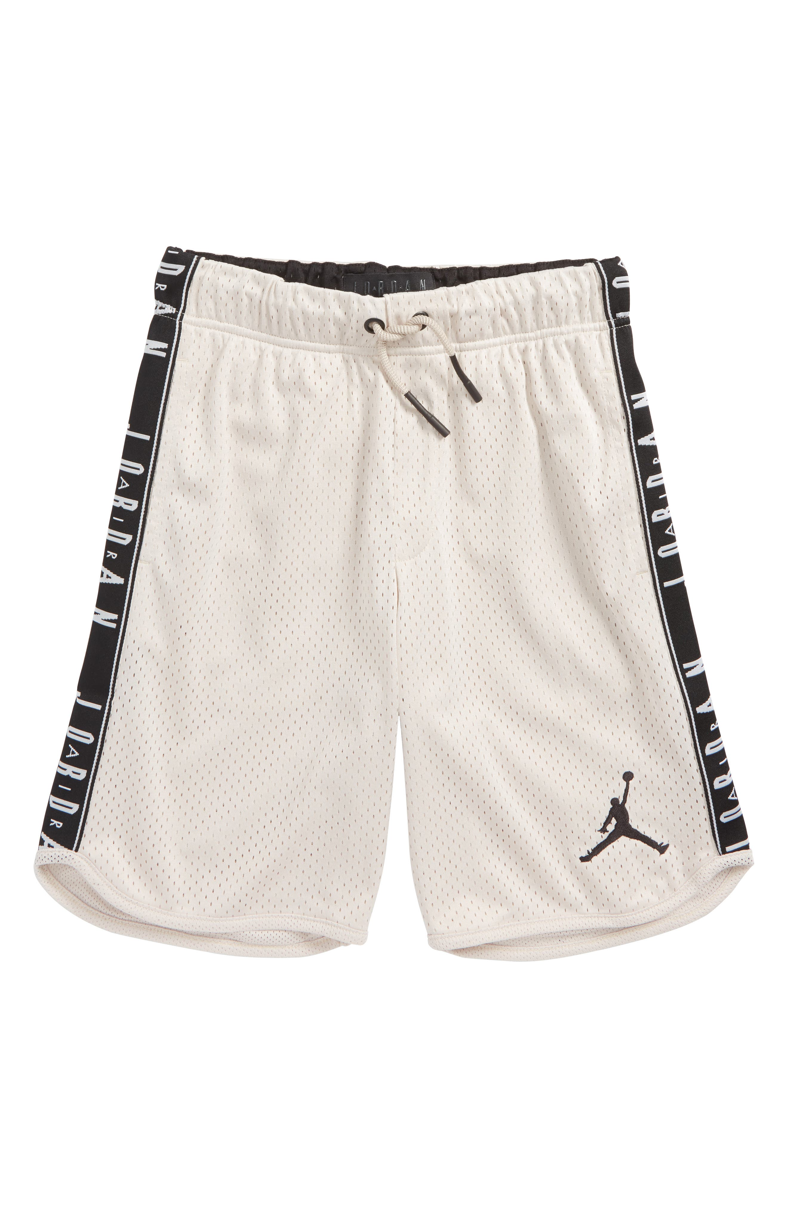 Jordan Rise Graphic Tape Baller Short,                             Main thumbnail 1, color,                             Desert Sand
