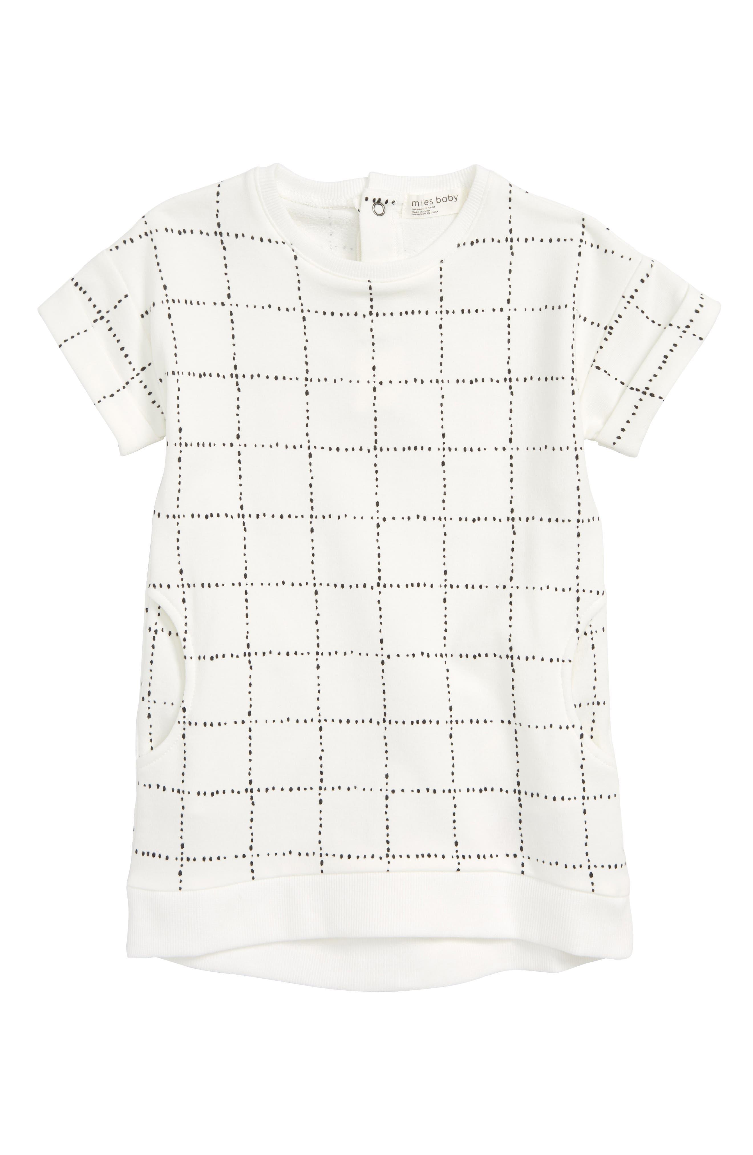 Miles Baby Dot Print Sweater Dress (Baby Girls)