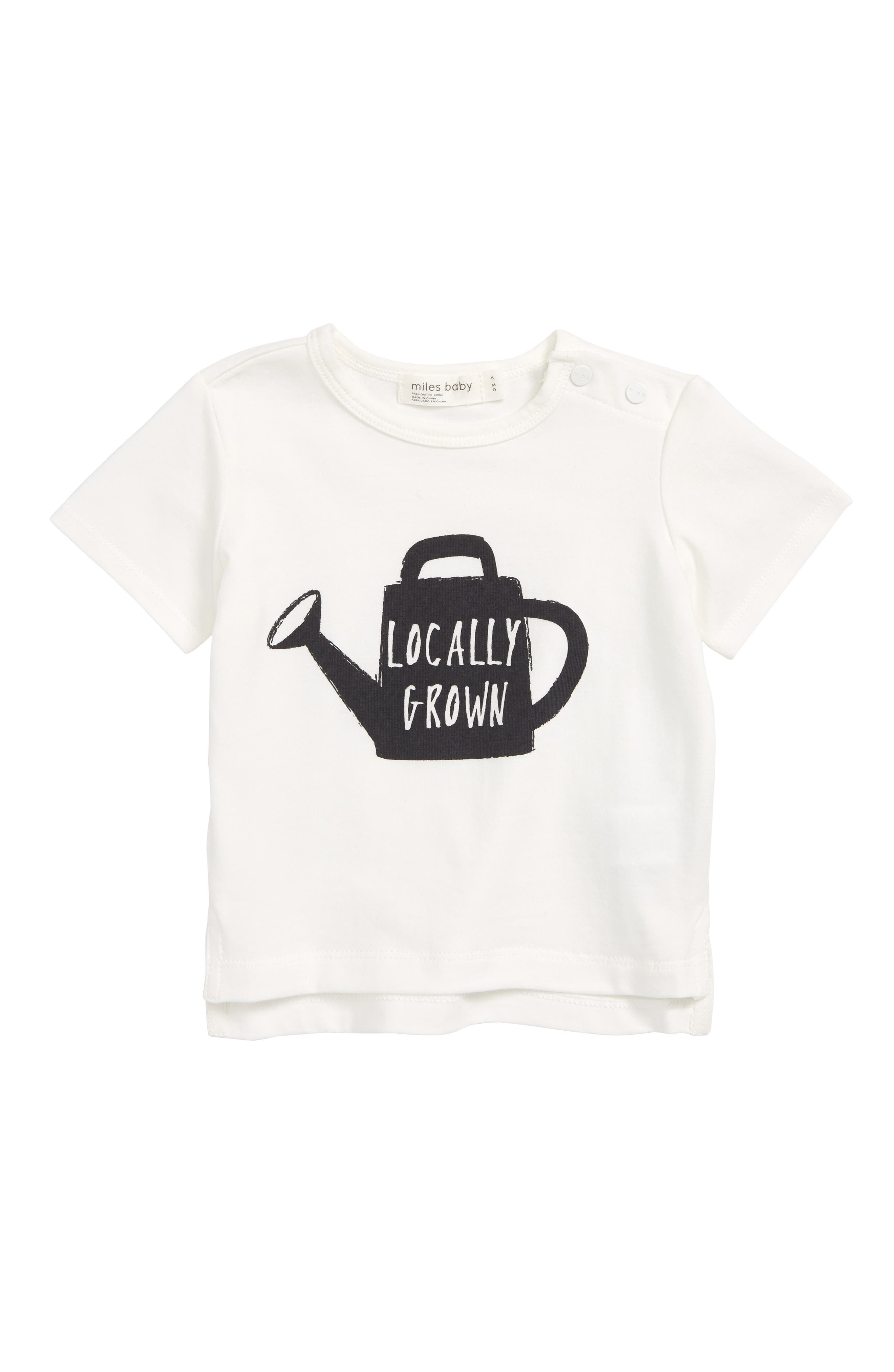 Locally Grown Graphic T-Shirt,                         Main,                         color, Off White