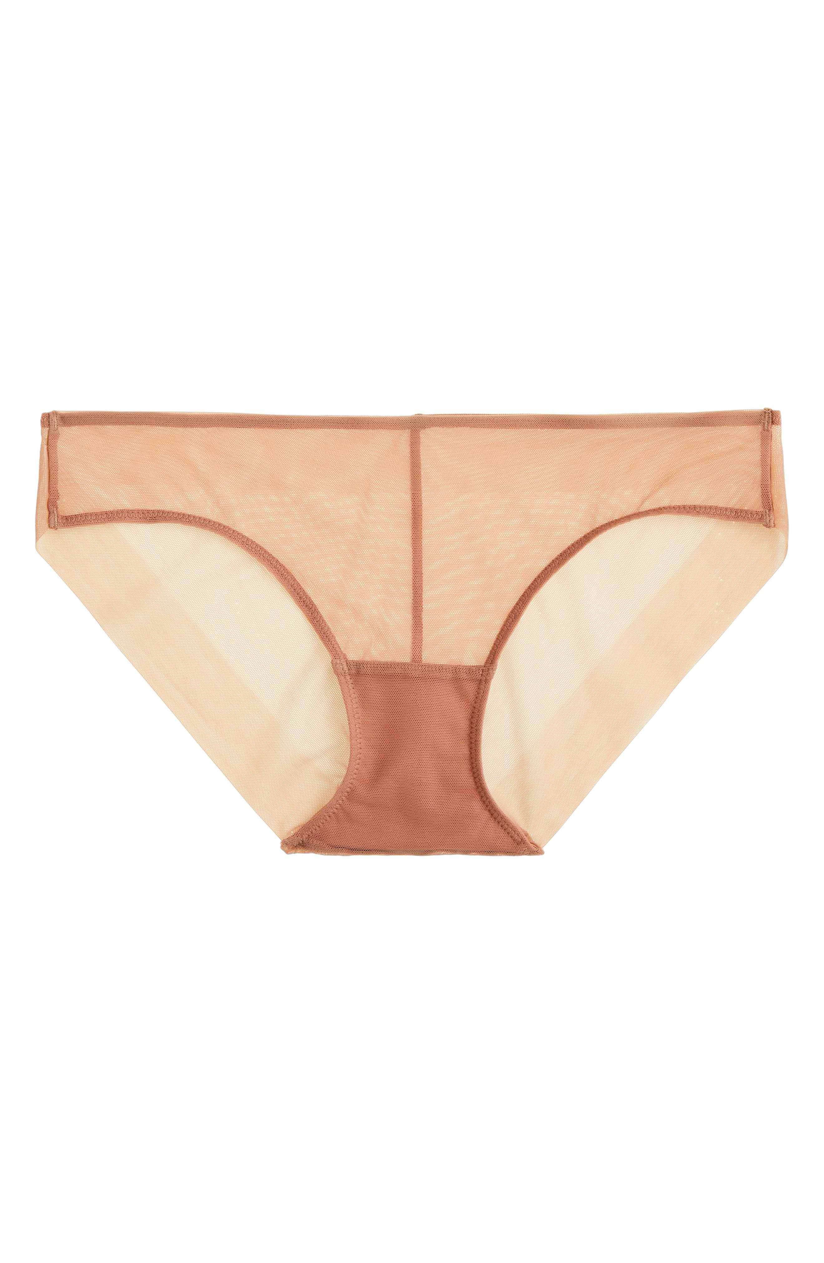 Second Skin Bikini,                             Main thumbnail 1, color,                             Pale Sepia