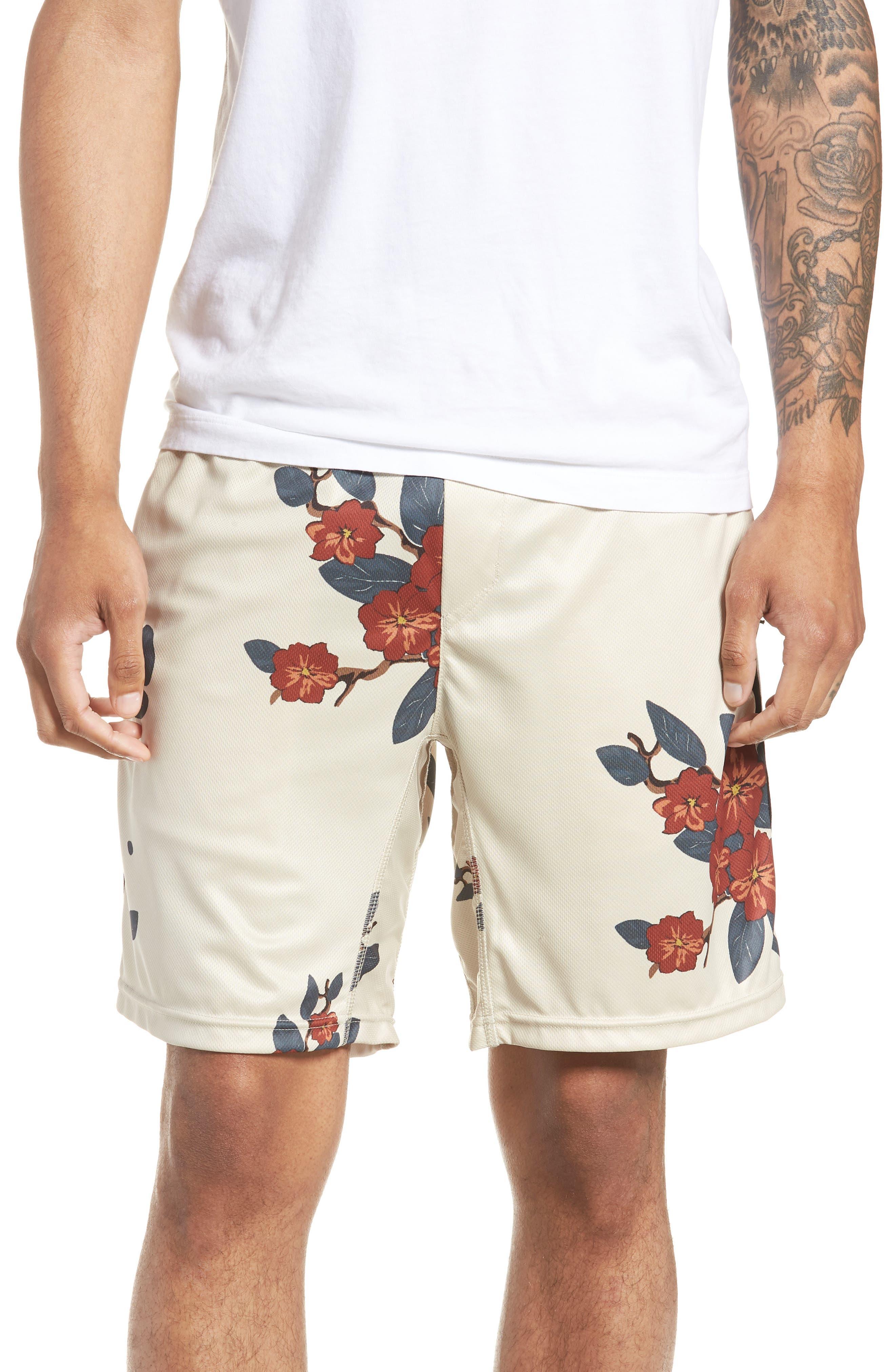 Bloom Sideline Shorts,                         Main,                         color, Natural
