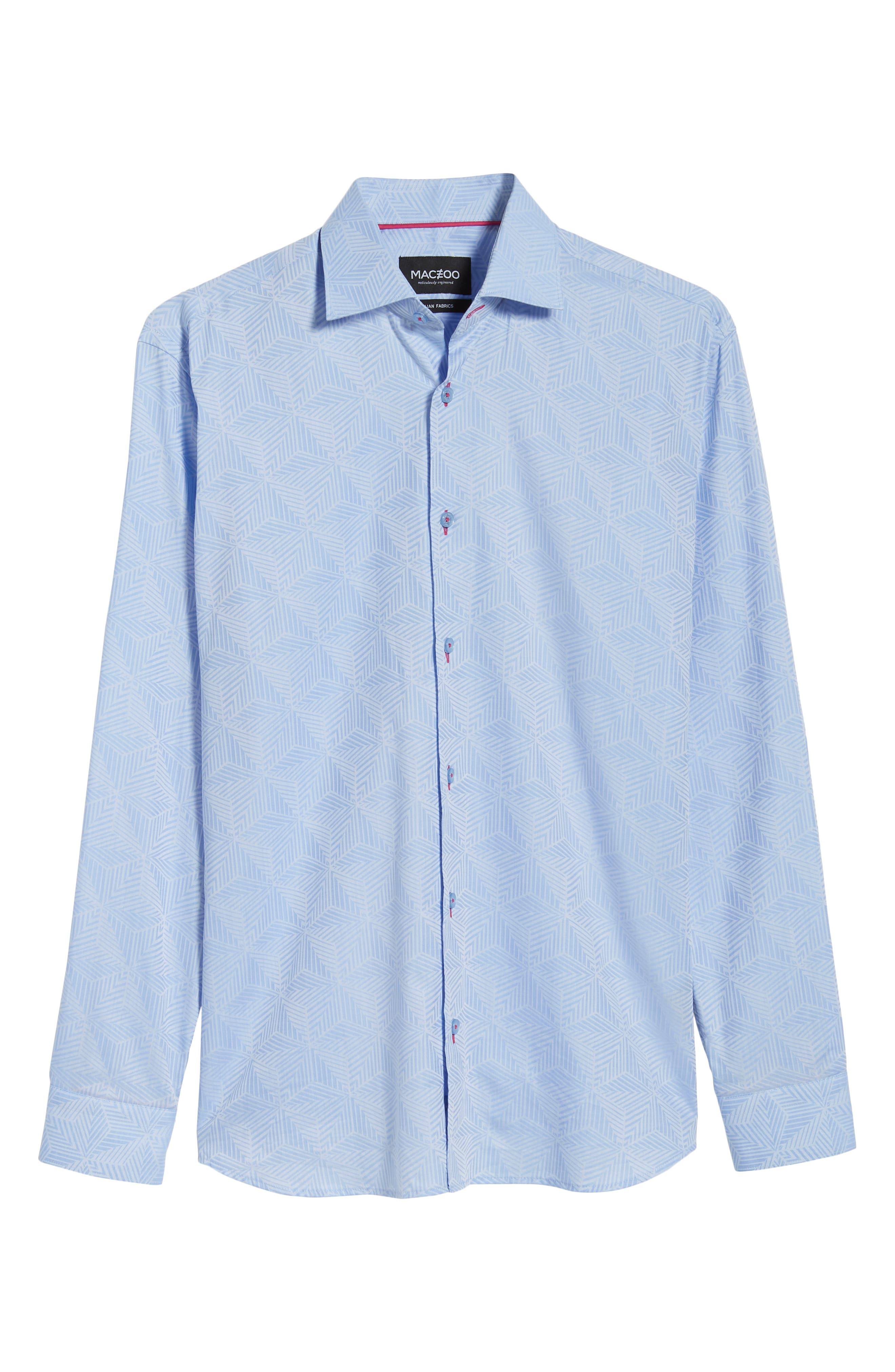 Luxor Cycad Sport Shirt,                             Alternate thumbnail 5, color,                             Blue