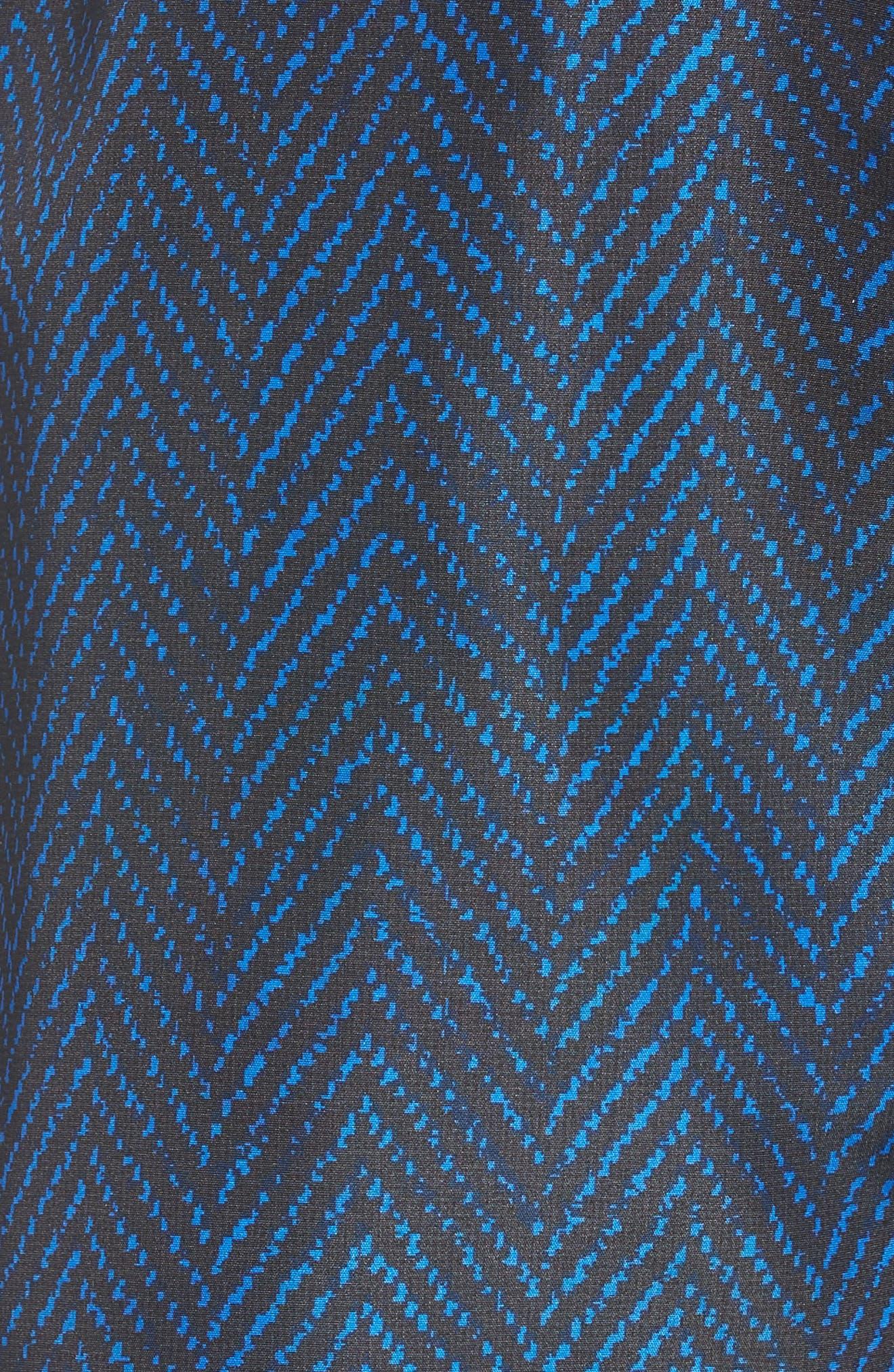Bells Beach Swim Trunks,                             Alternate thumbnail 6, color,                             Blue