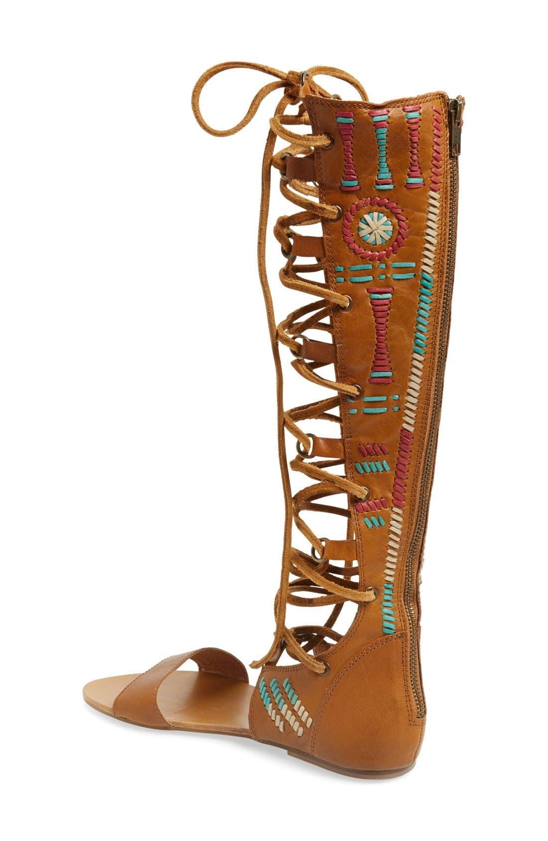 Alternate Image 2  - Free People 'Bellflower' Tall Gladiator Sandal (Women)