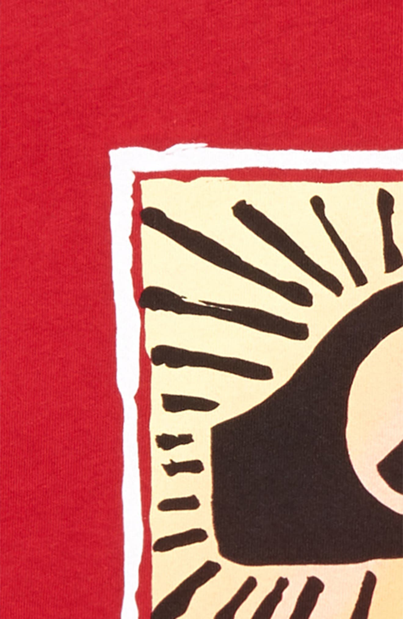 Under The Sun Graphic T-Shirt,                             Alternate thumbnail 2, color,                             Chili Pepper