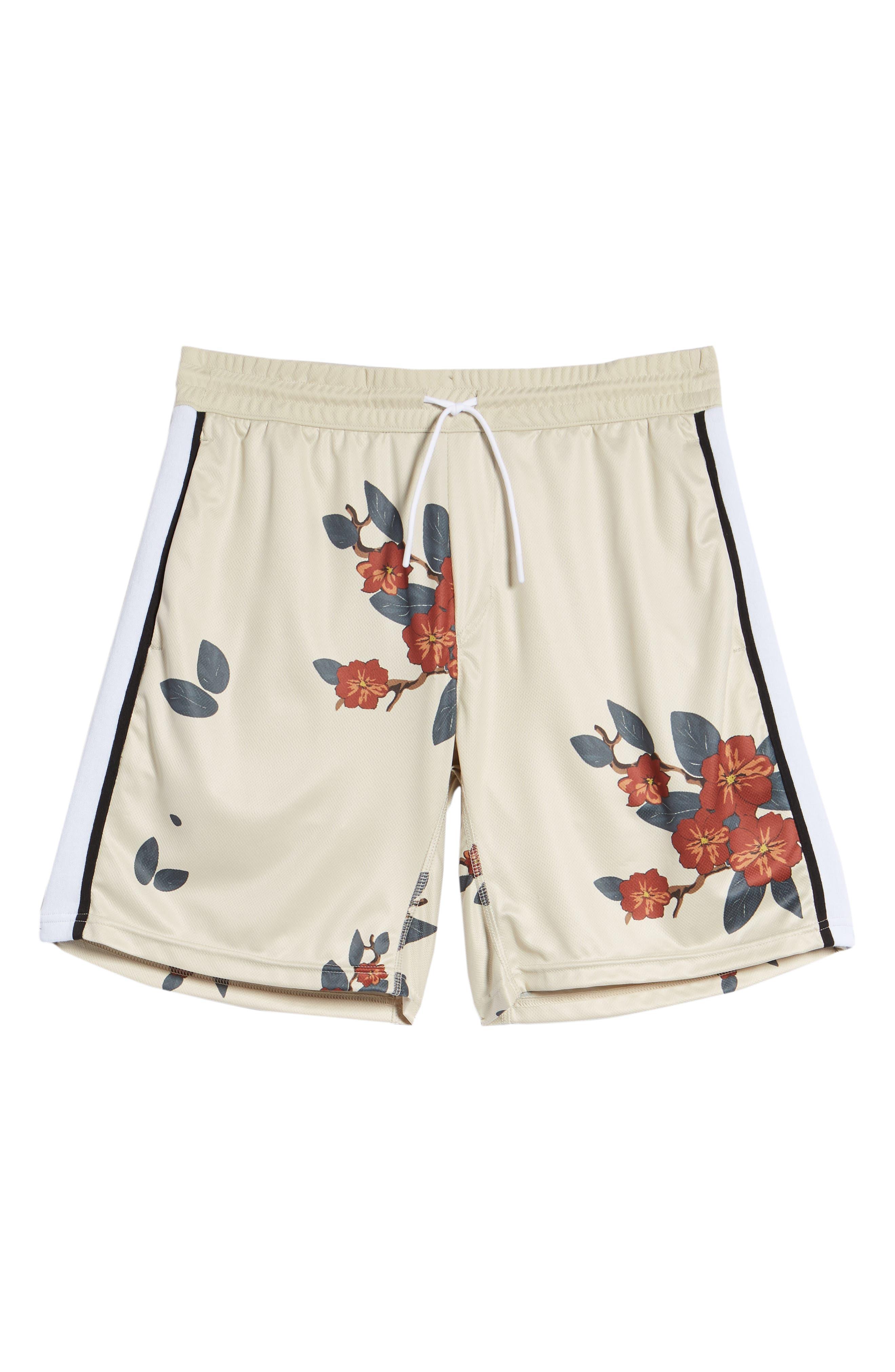 Bloom Sideline Shorts,                             Alternate thumbnail 6, color,                             Natural