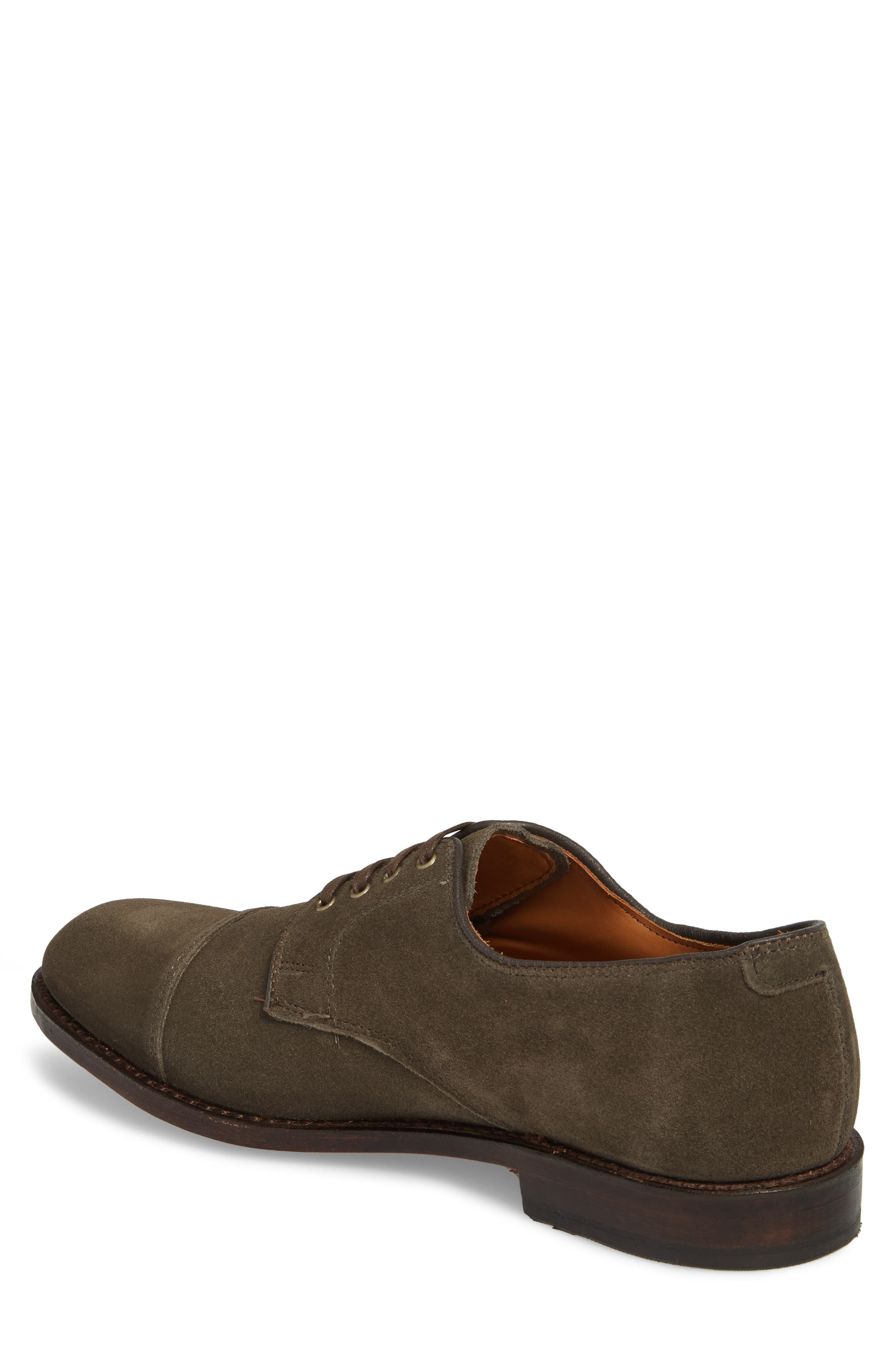 Barrett Cap Toe Derby,                             Alternate thumbnail 2, color,                             Slate Leather