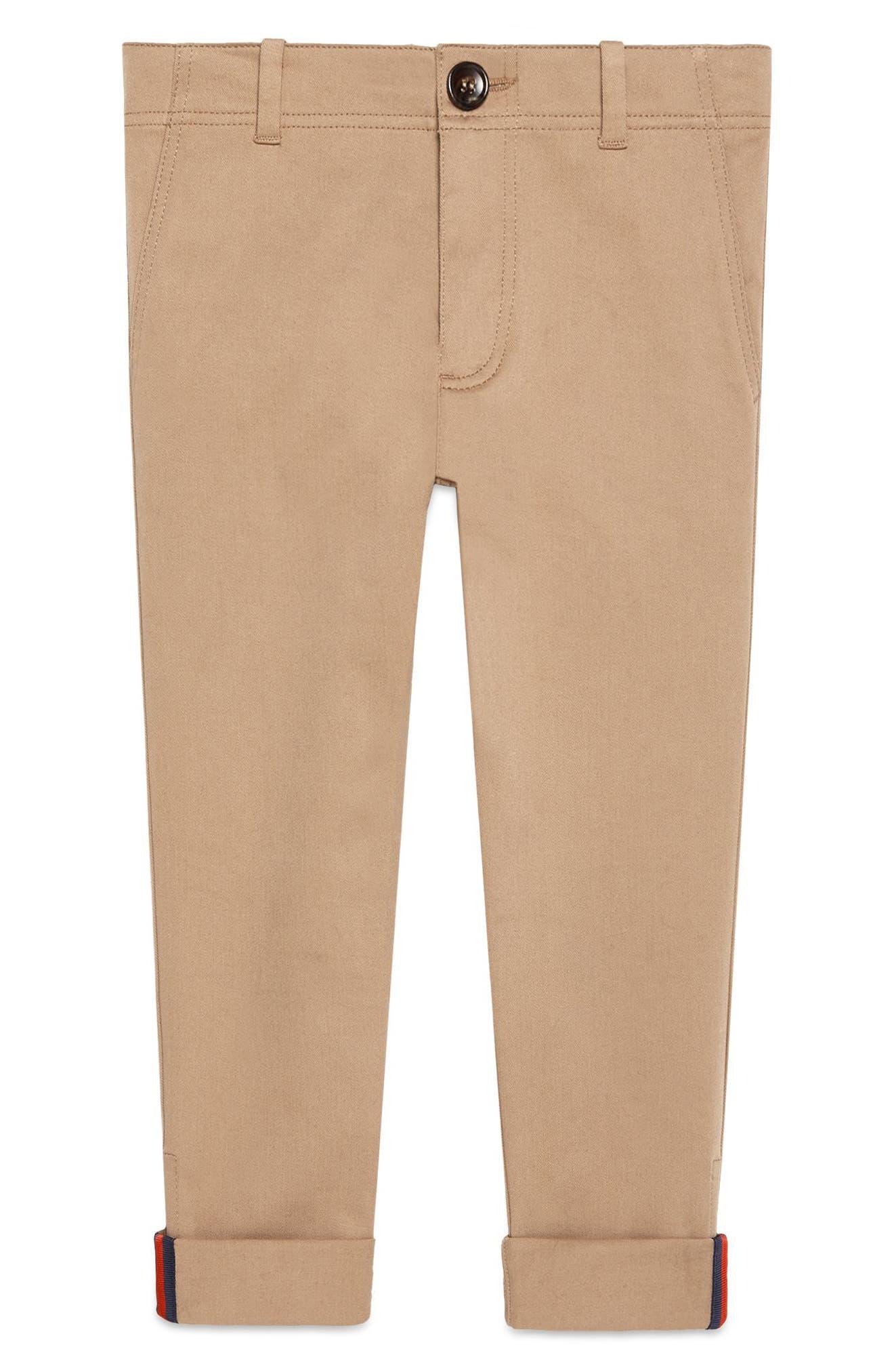 Urban Stripe Pants,                         Main,                         color, Sugarcane/ Blue/ Red