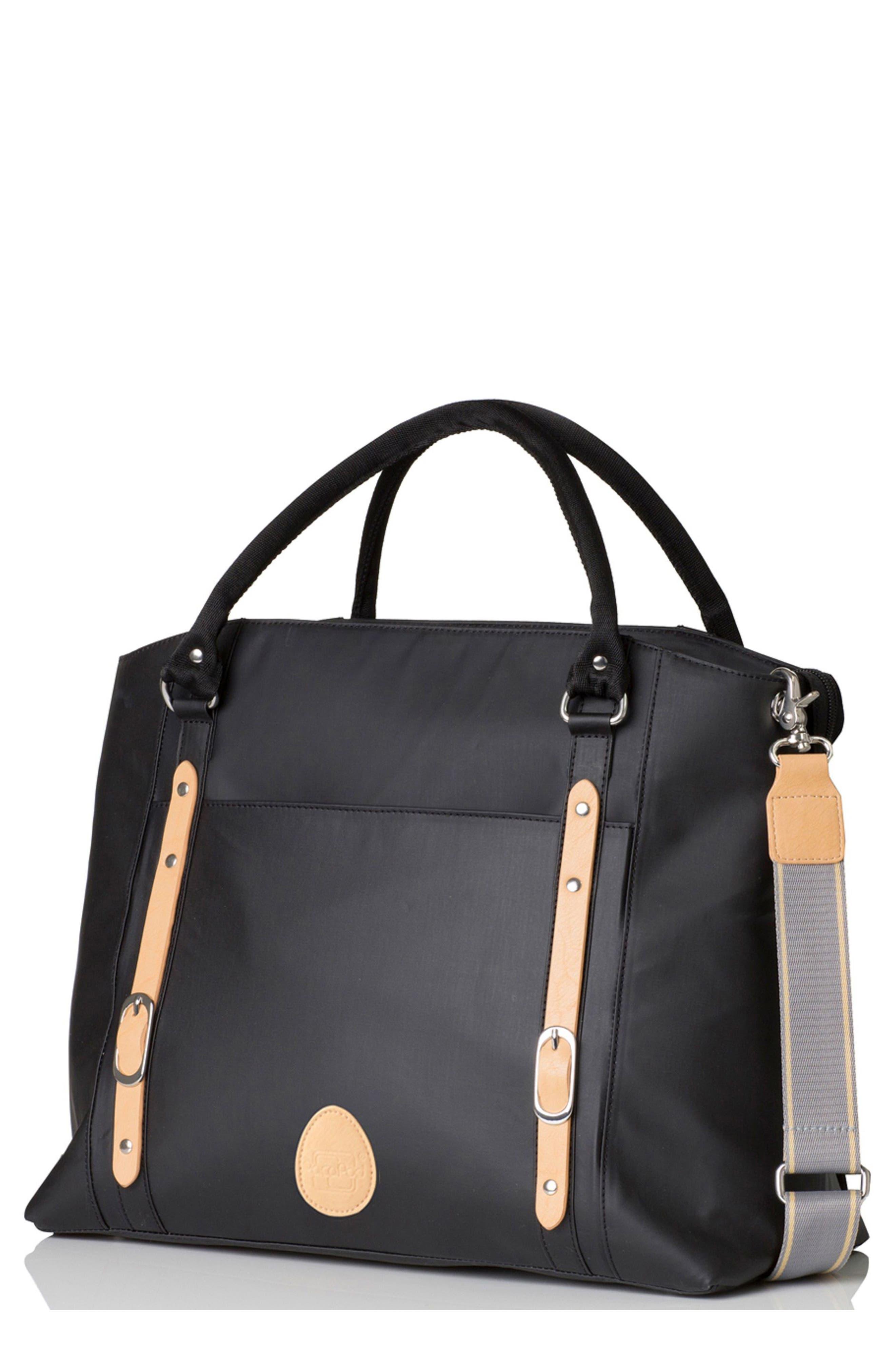'Mirano' Diaper Bag,                             Main thumbnail 1, color,                             Black