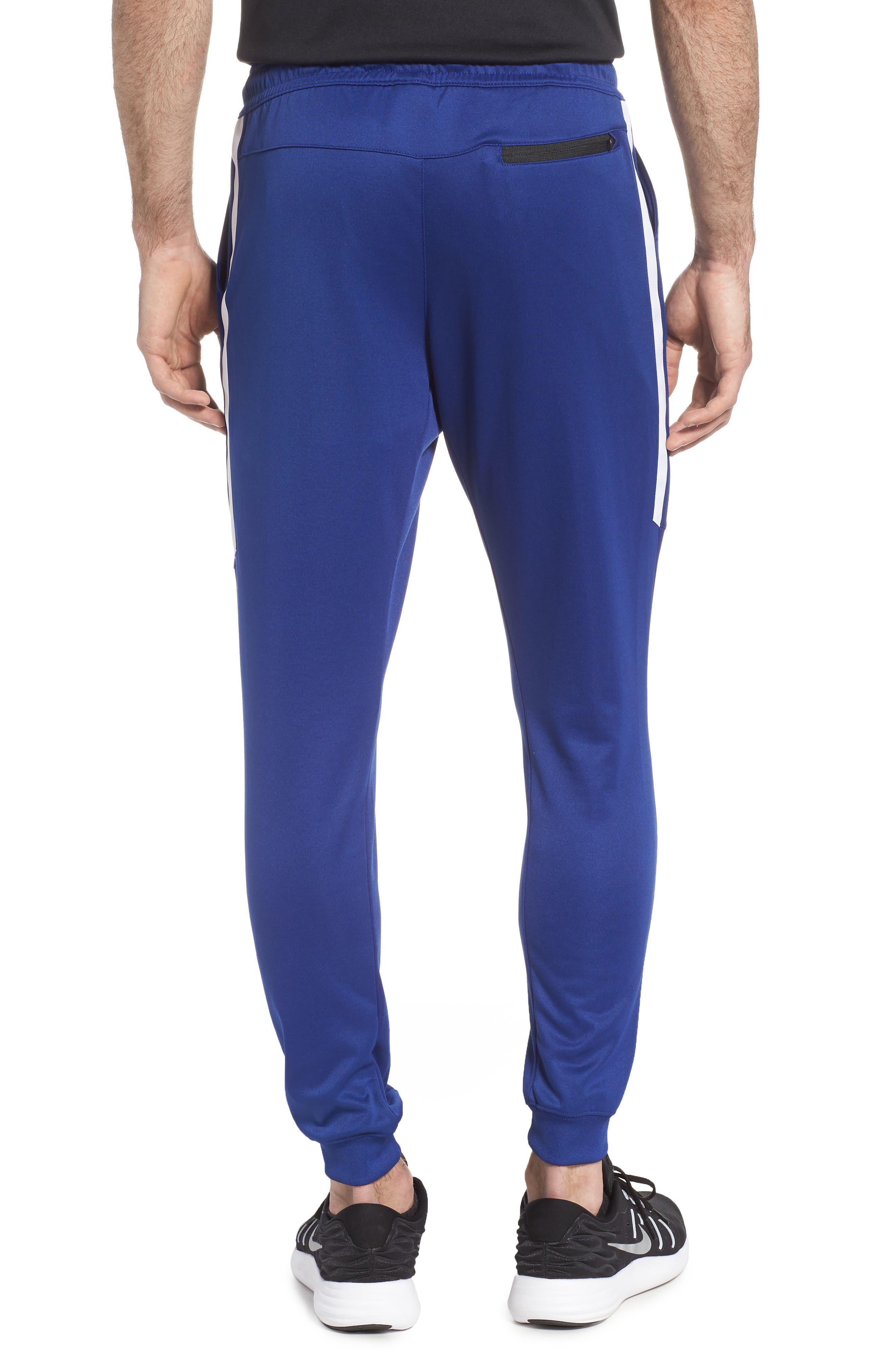 Tribute Jogger Pants,                             Alternate thumbnail 2, color,                             Deep Royal Blue/ White/ White