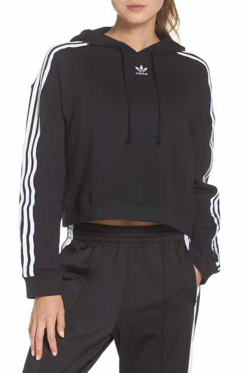 adidas Originals Crop Hoodie by ADIDAS ORIGINALS