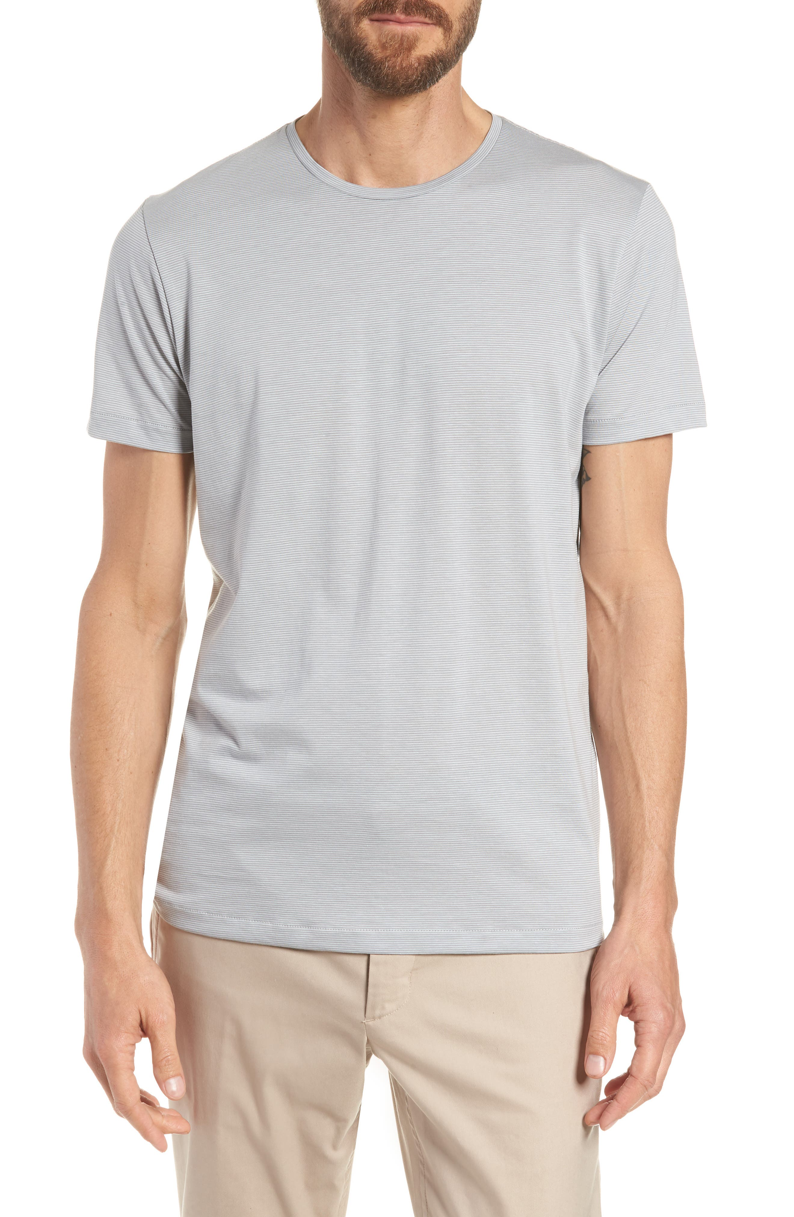 Refined Slim Fit T-Shirt,                             Main thumbnail 1, color,                             Echo Sterling