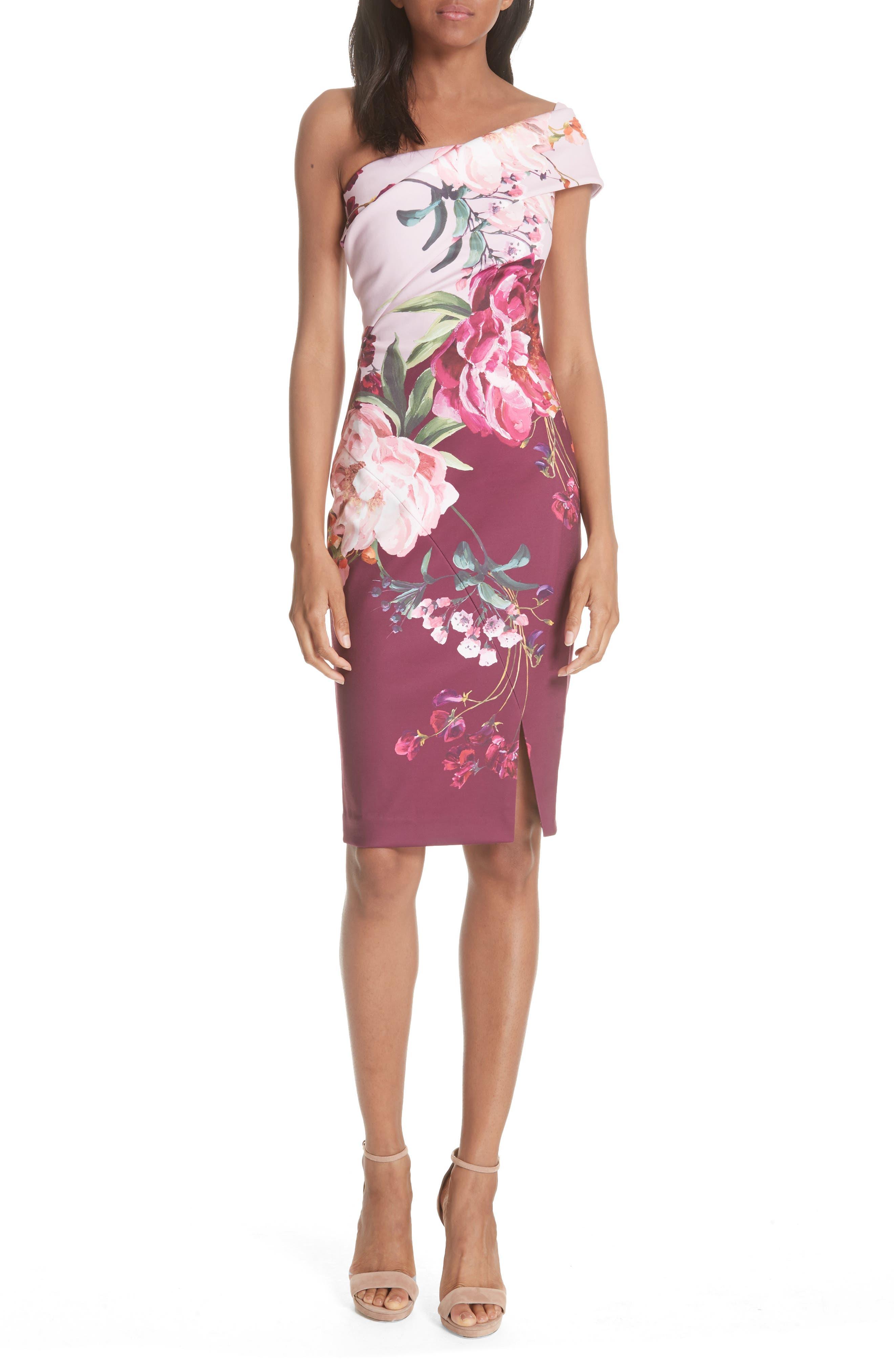 Irlina Serenity Sheath Dress,                             Main thumbnail 1, color,                             Lilac