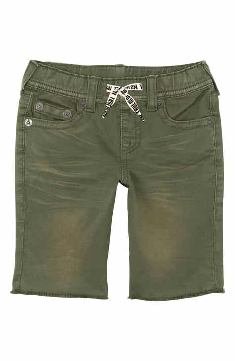 f5dccb5d1 True Religion Brand Jeans Geno French Terry Shorts (Toddler Boys, Little  Boys & Big Boys)