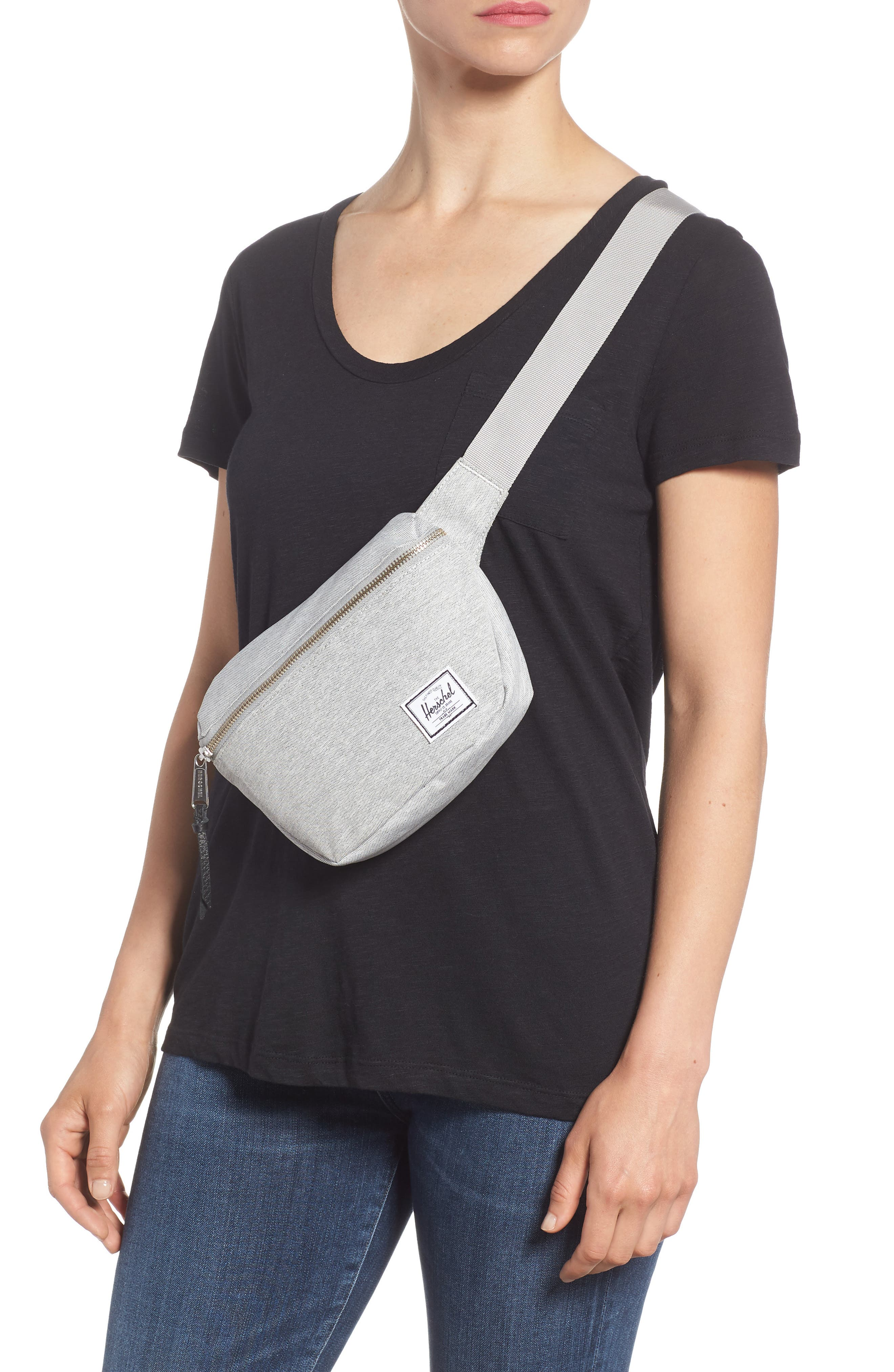 Fifteen Belt Bag,                             Alternate thumbnail 2, color,                             Light Grey
