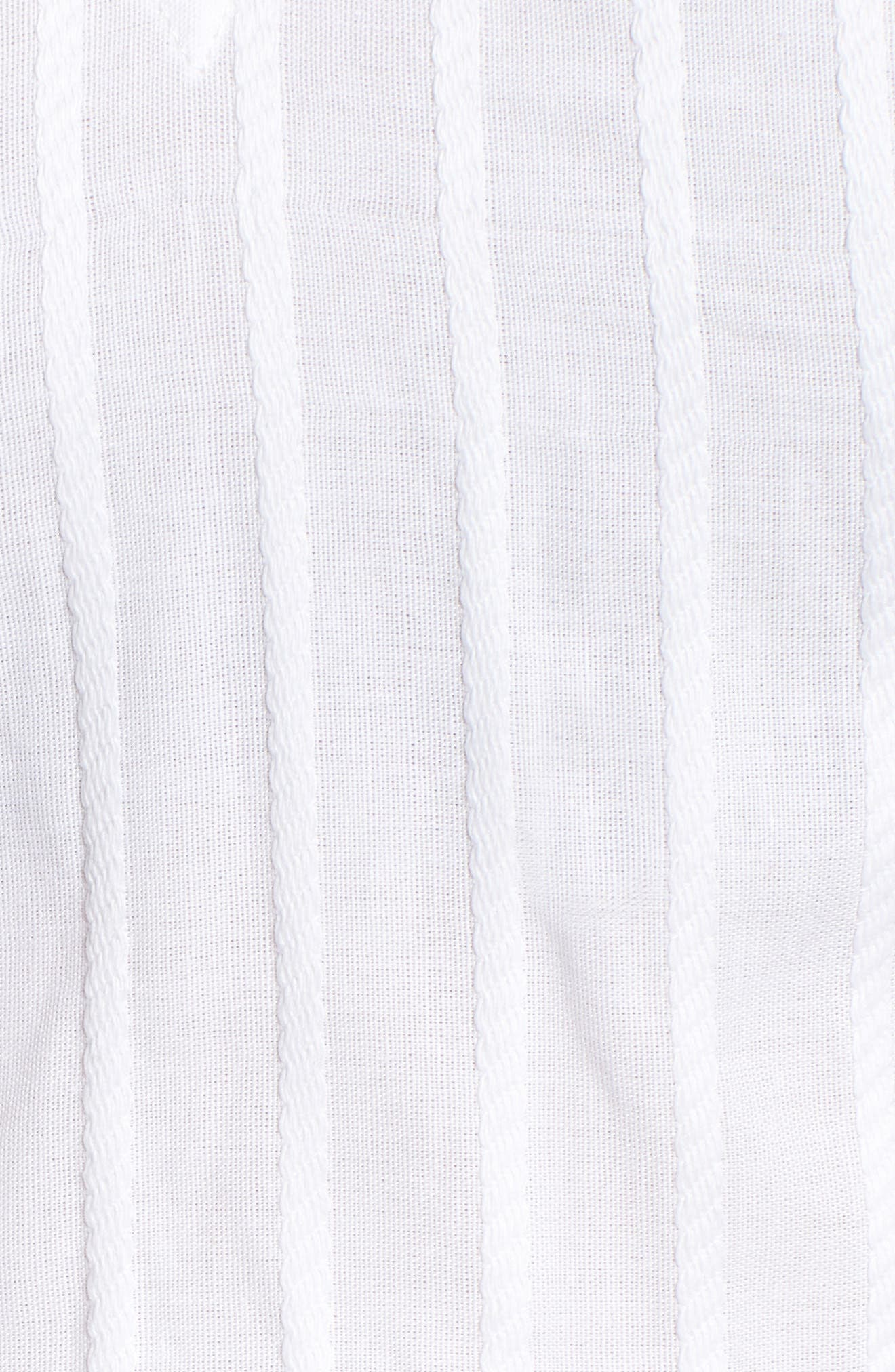 Currency Puff Sleeve Top,                             Alternate thumbnail 7, color,                             White