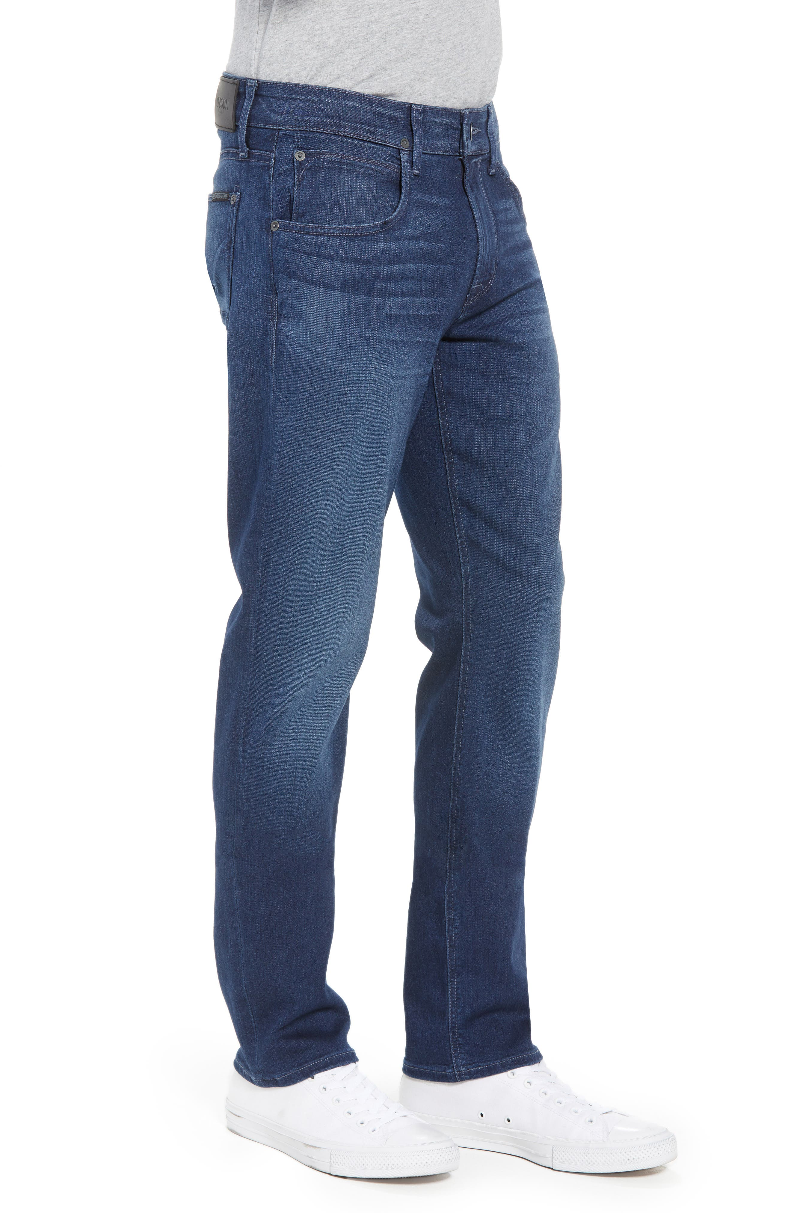 Byron Slim Straight Leg Jeans,                             Alternate thumbnail 4, color,                             Freeman