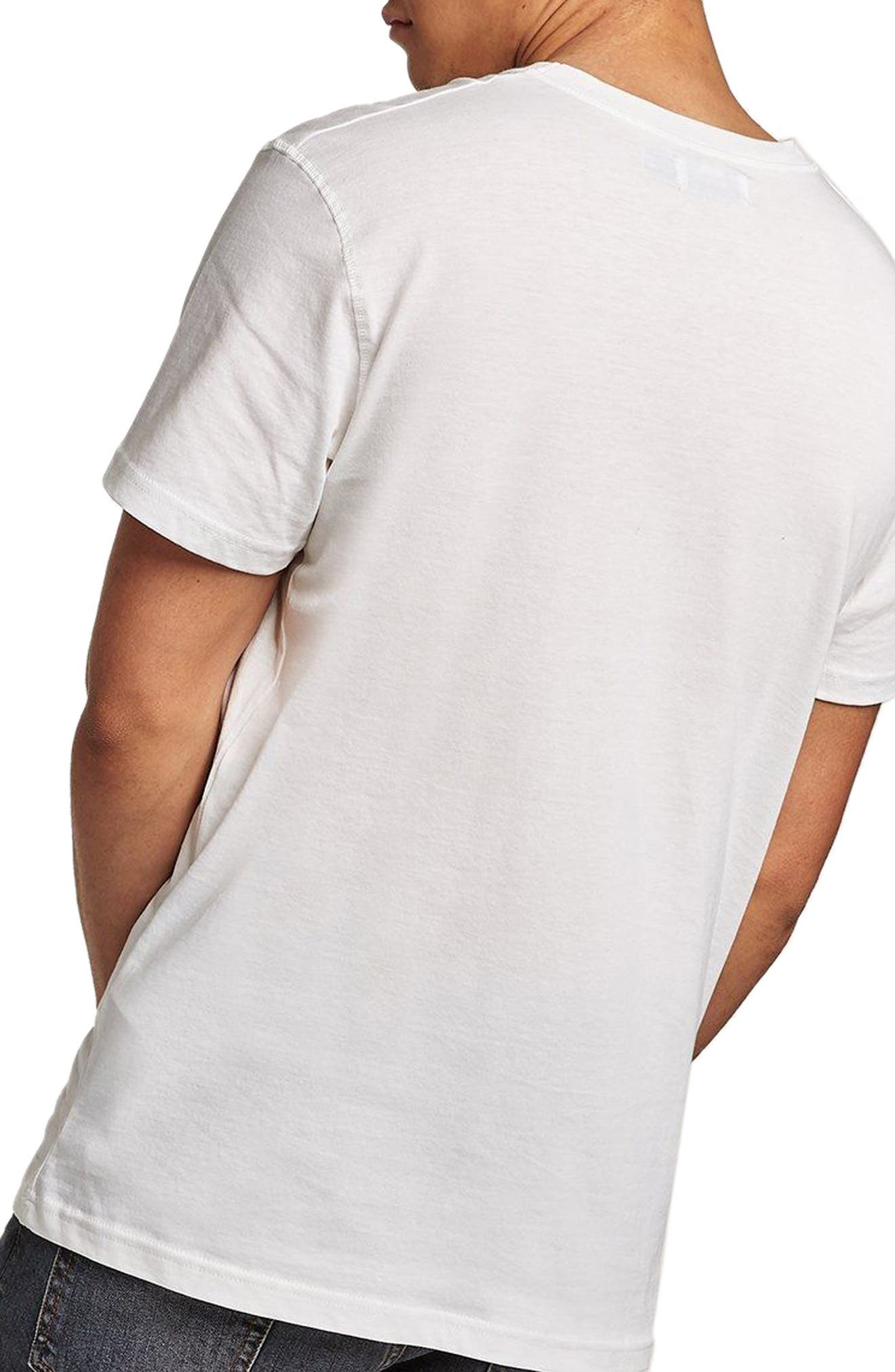 Classic Fit Lonestar Ranch Studded T-Shirt,                             Alternate thumbnail 2, color,                             Beige Multi