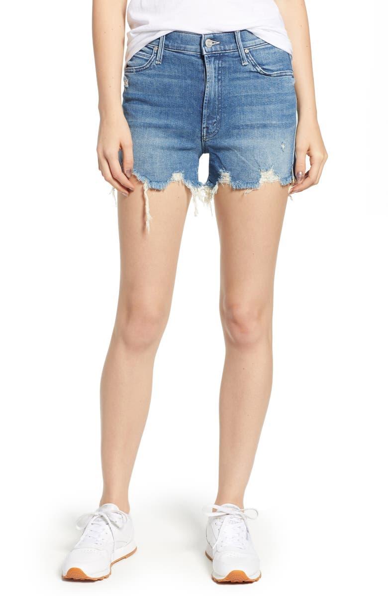 The Rascal High Waist Slit Chew Shorts