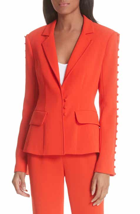 Cinq ? Sept Vivianna Button Sleeve Jacket