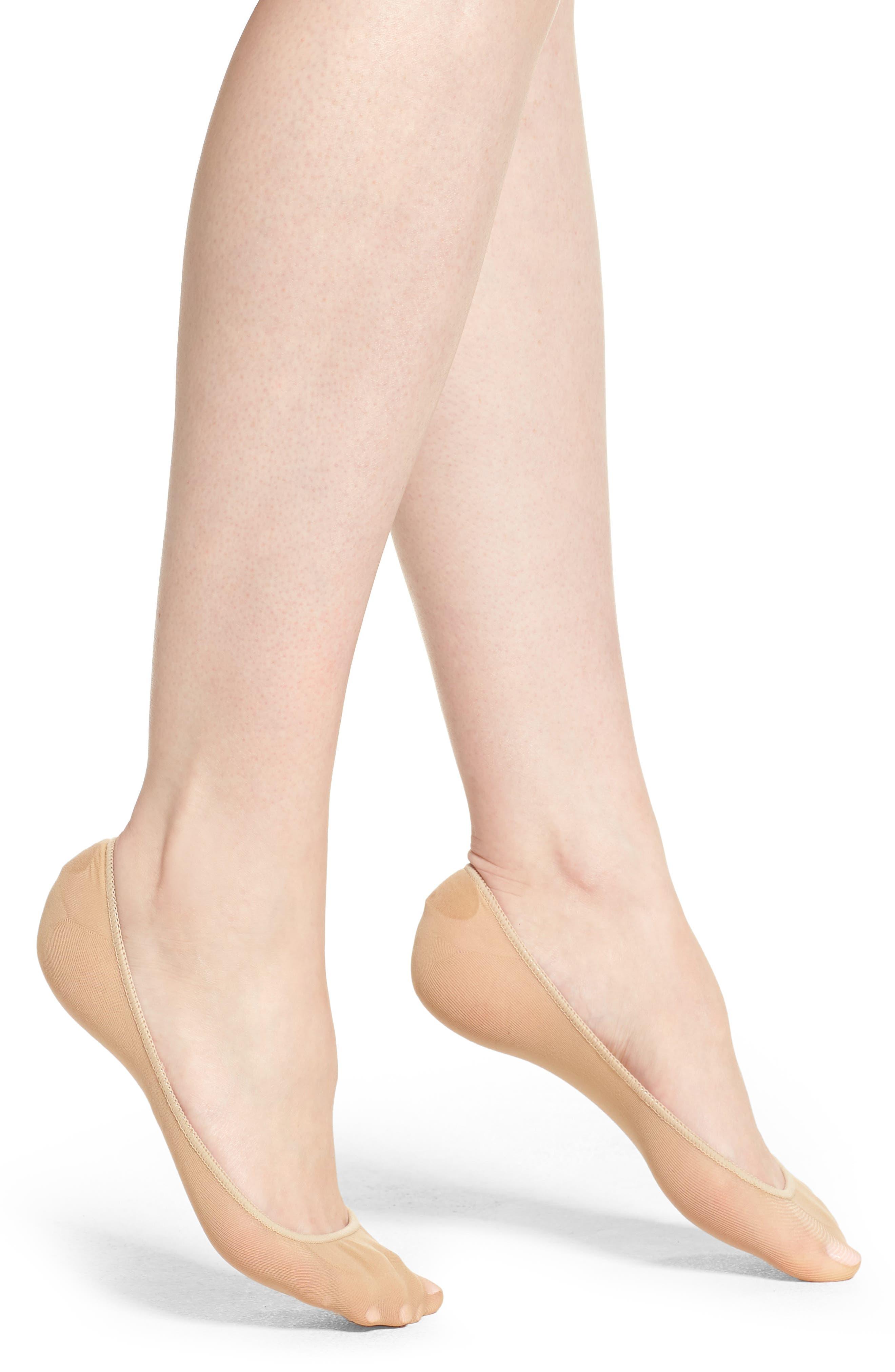 No-Show Socks,                             Main thumbnail 1, color,                             Cream