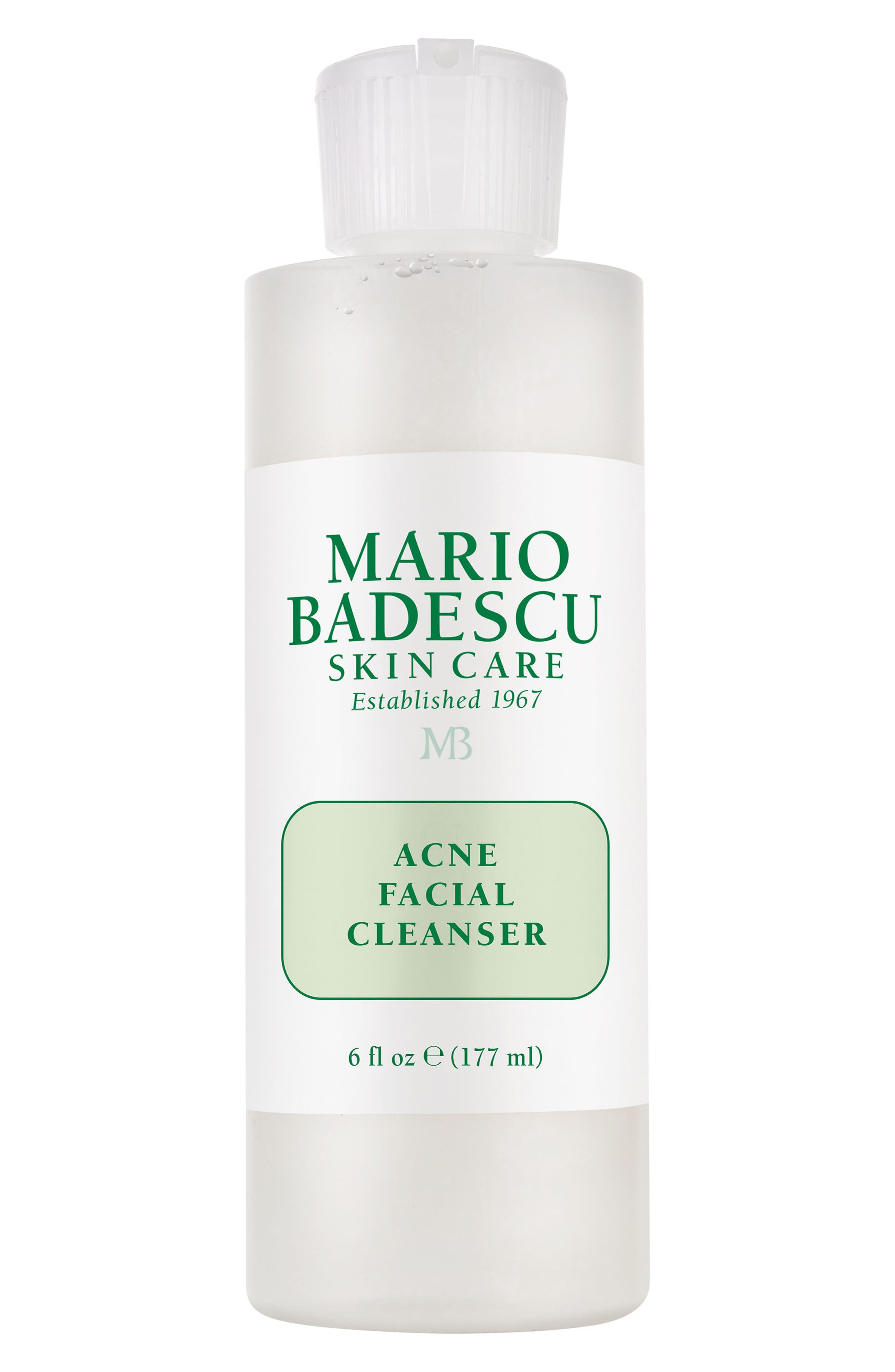 Acne Facial Cleanser,                             Main thumbnail 1, color,                             No Color