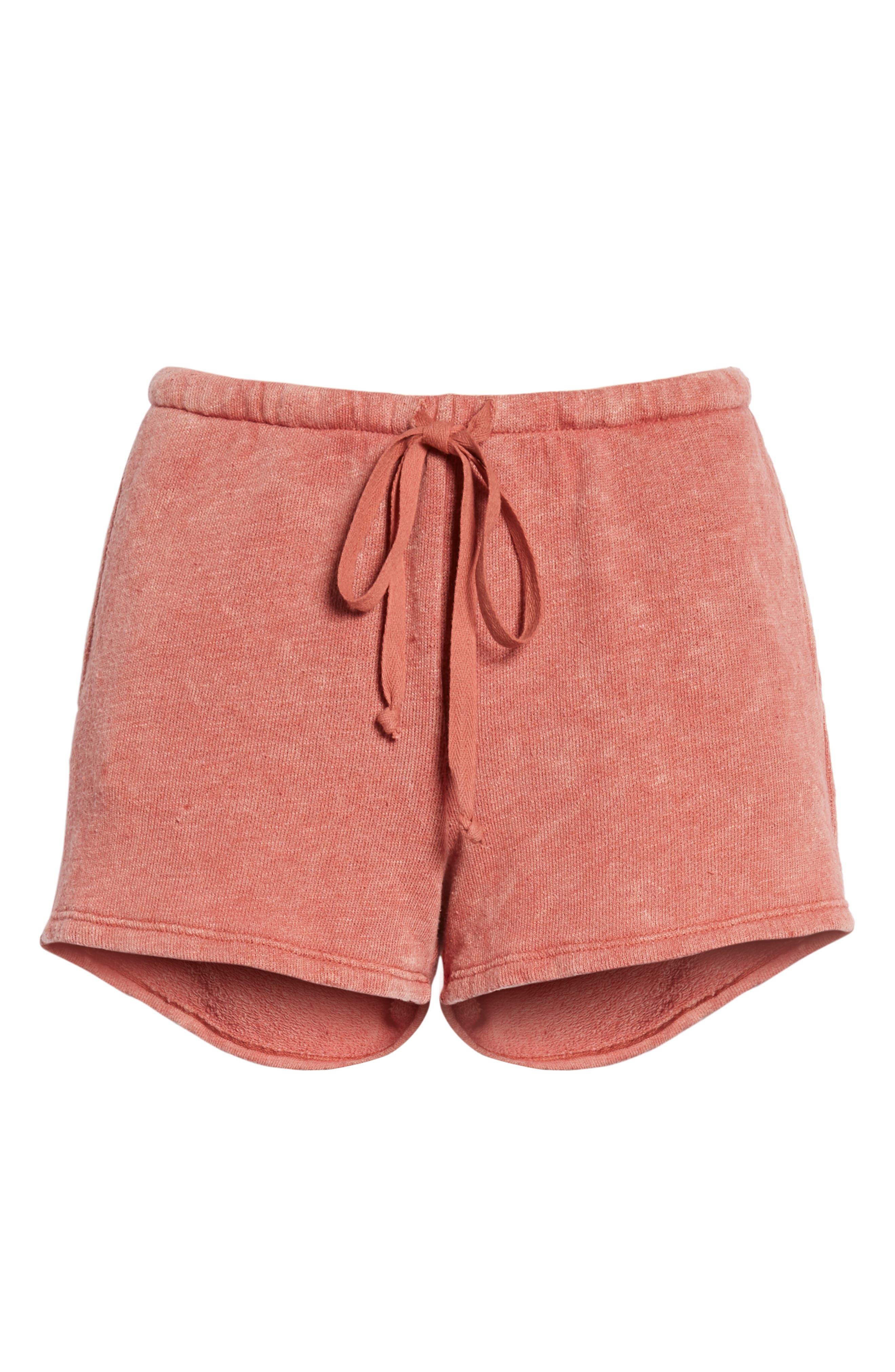 Kiama Shorts,                             Alternate thumbnail 6, color,                             Strawberry Rouge