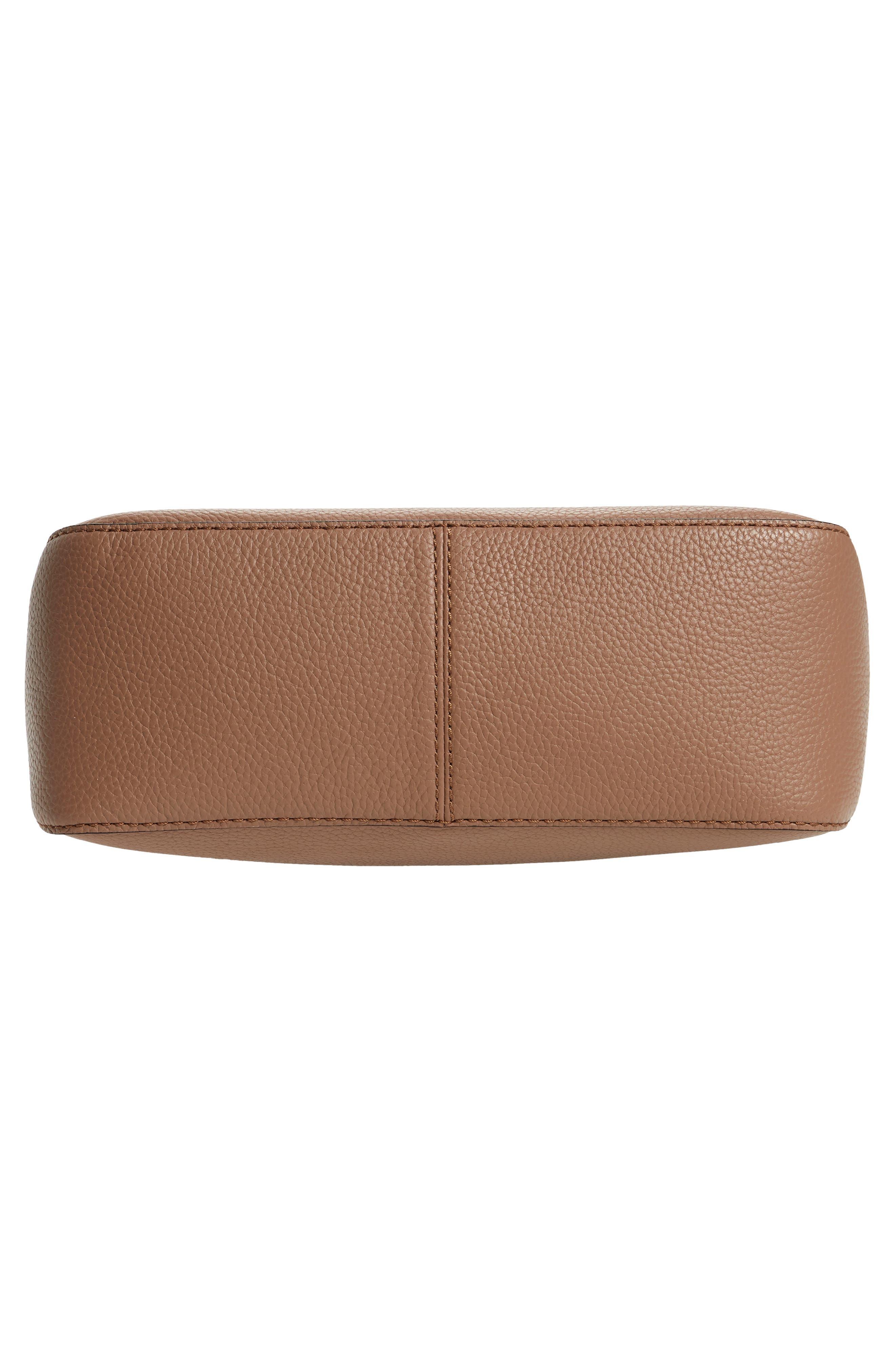 jackson street - colette leather satchel,                             Alternate thumbnail 6, color,                             Toasty