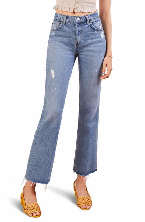 Women s REFORMATION Jeans   Denim   Nordstrom 81410fae935d