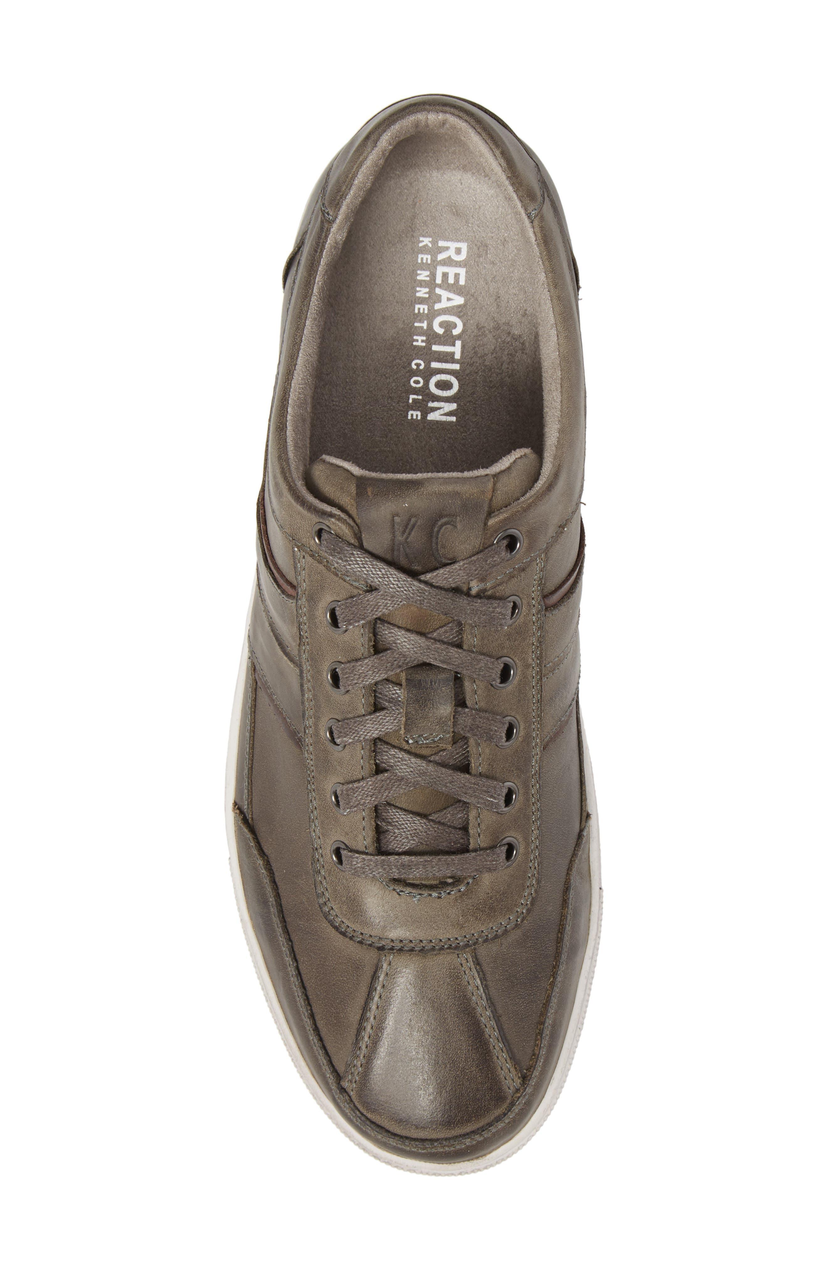 Sprinter Low Top Sneaker,                             Alternate thumbnail 5, color,                             Grey