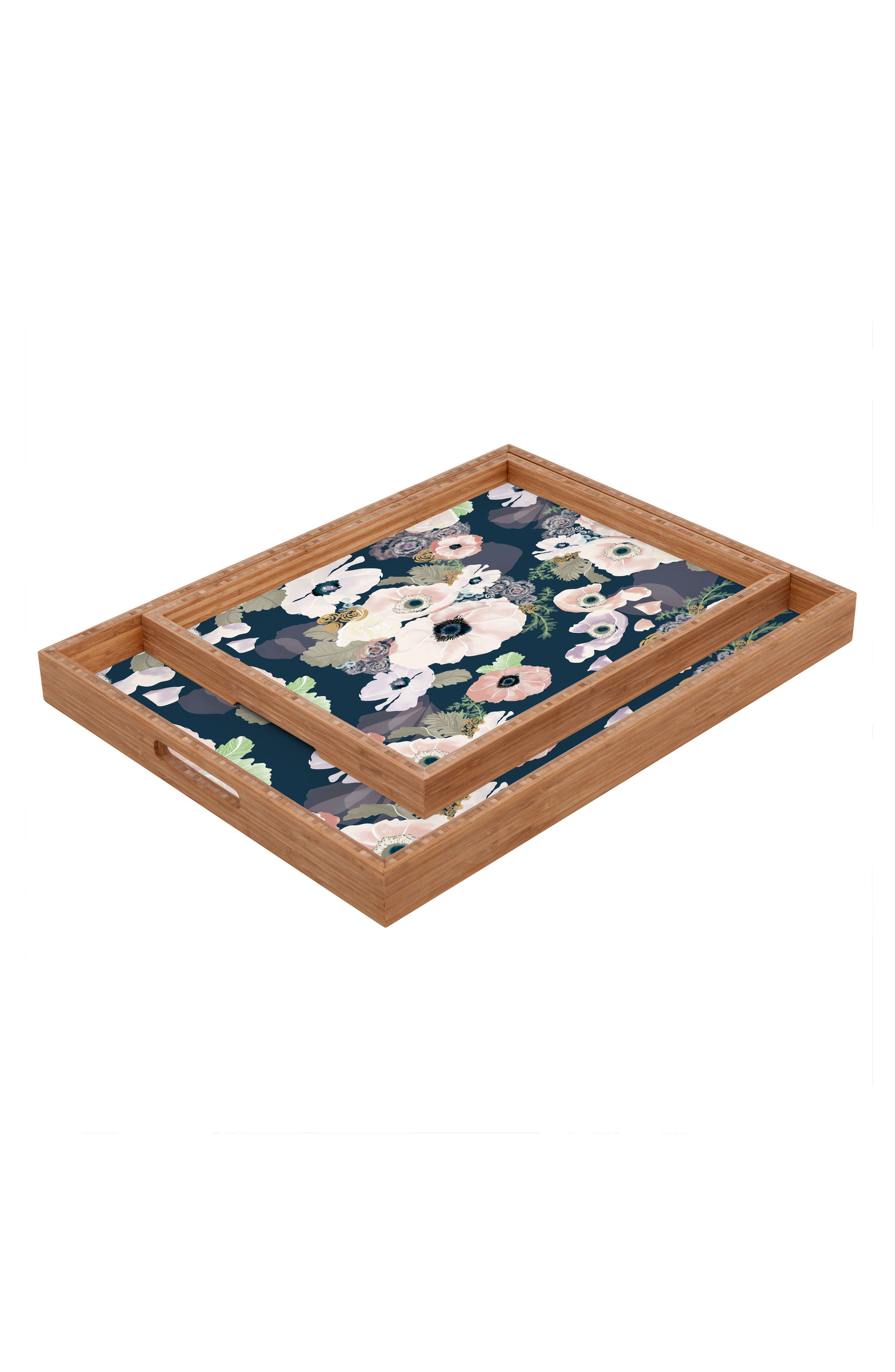 Khristian A Howell Une Femme Tray,                             Alternate thumbnail 2, color,                             Blue