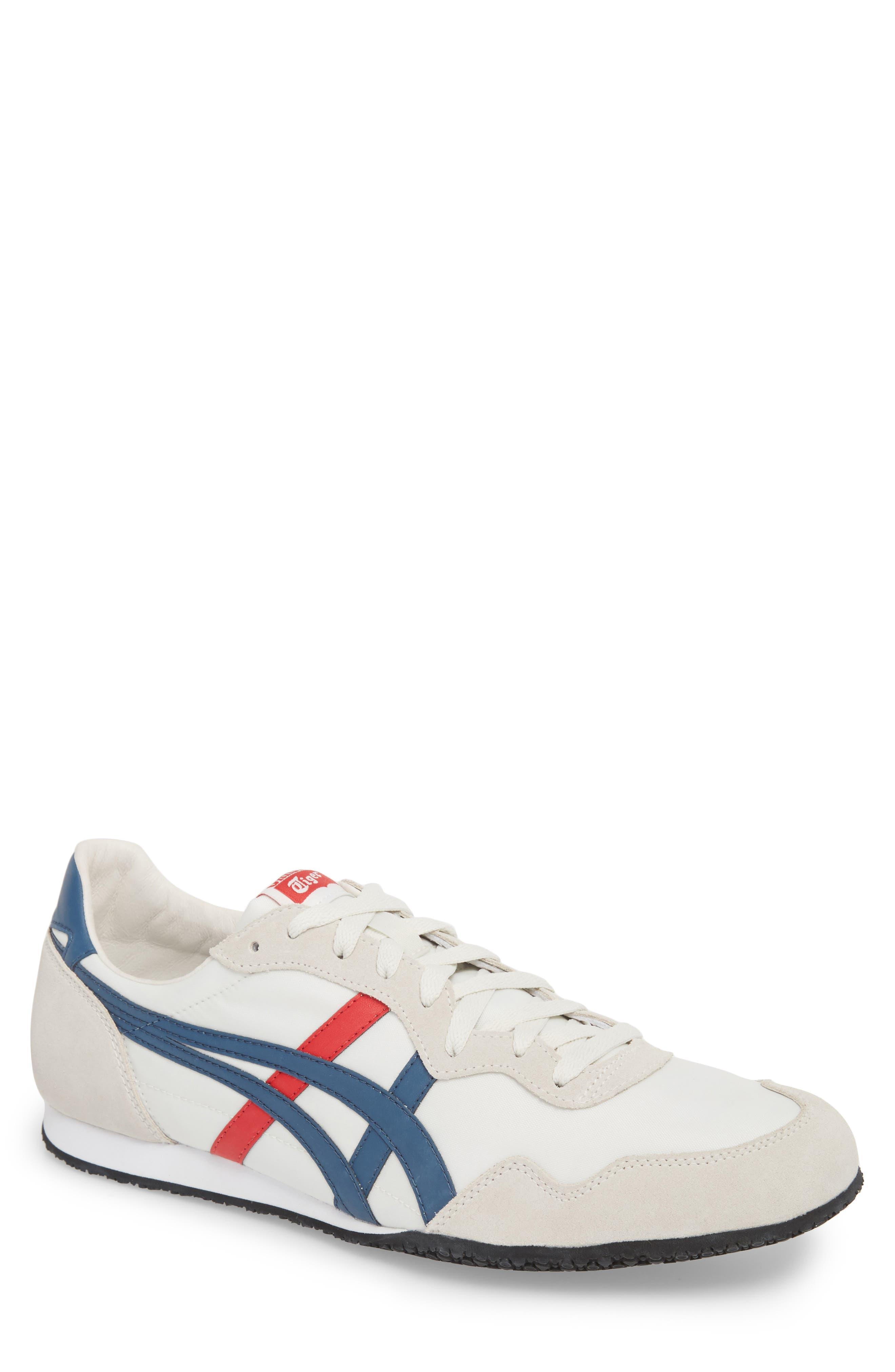 'Serrano' Sneaker,                         Main,                         color, White/ Mallard Blue