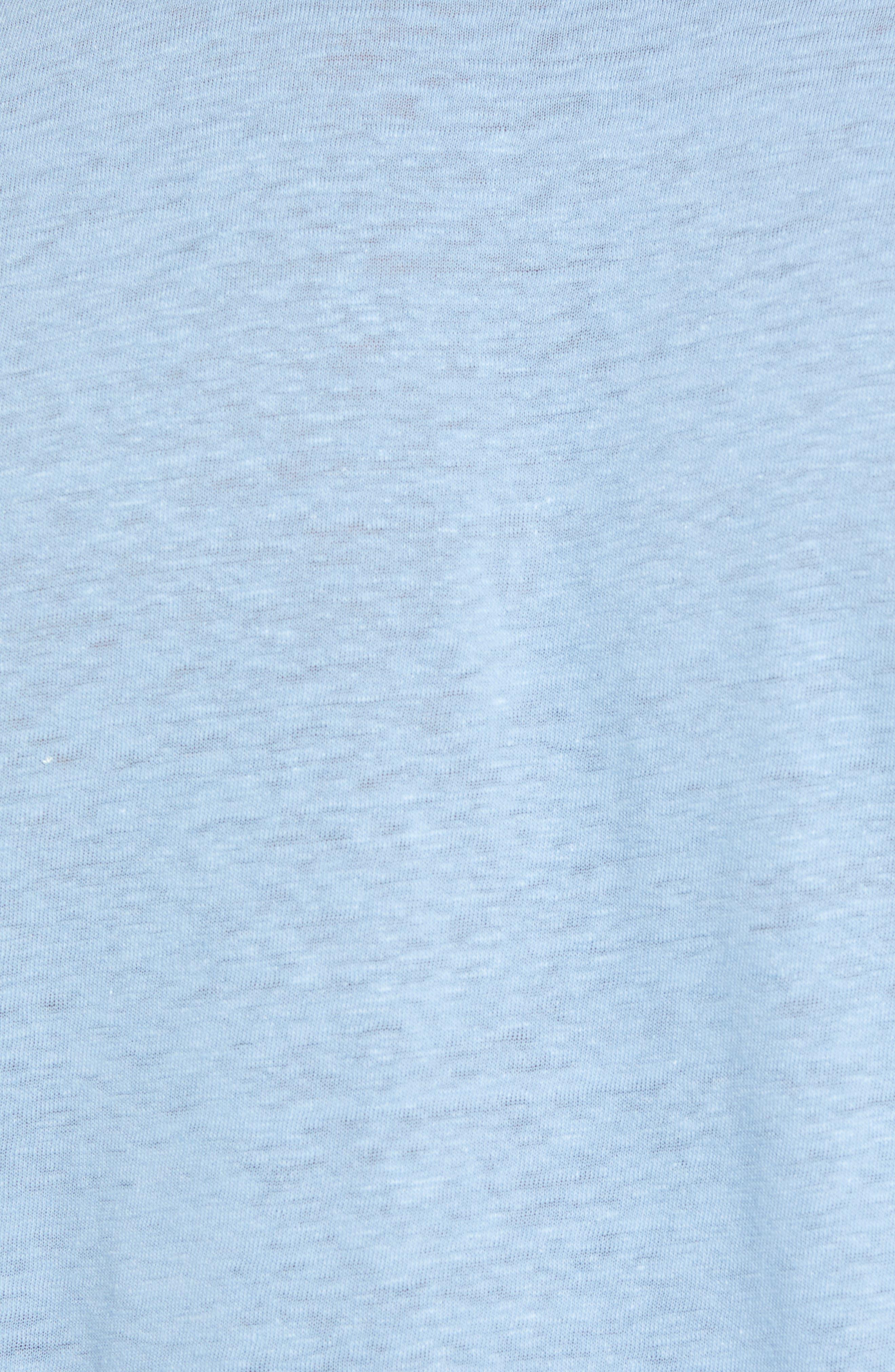 Slim Fit Polo,                             Alternate thumbnail 5, color,                             Ballard Blue