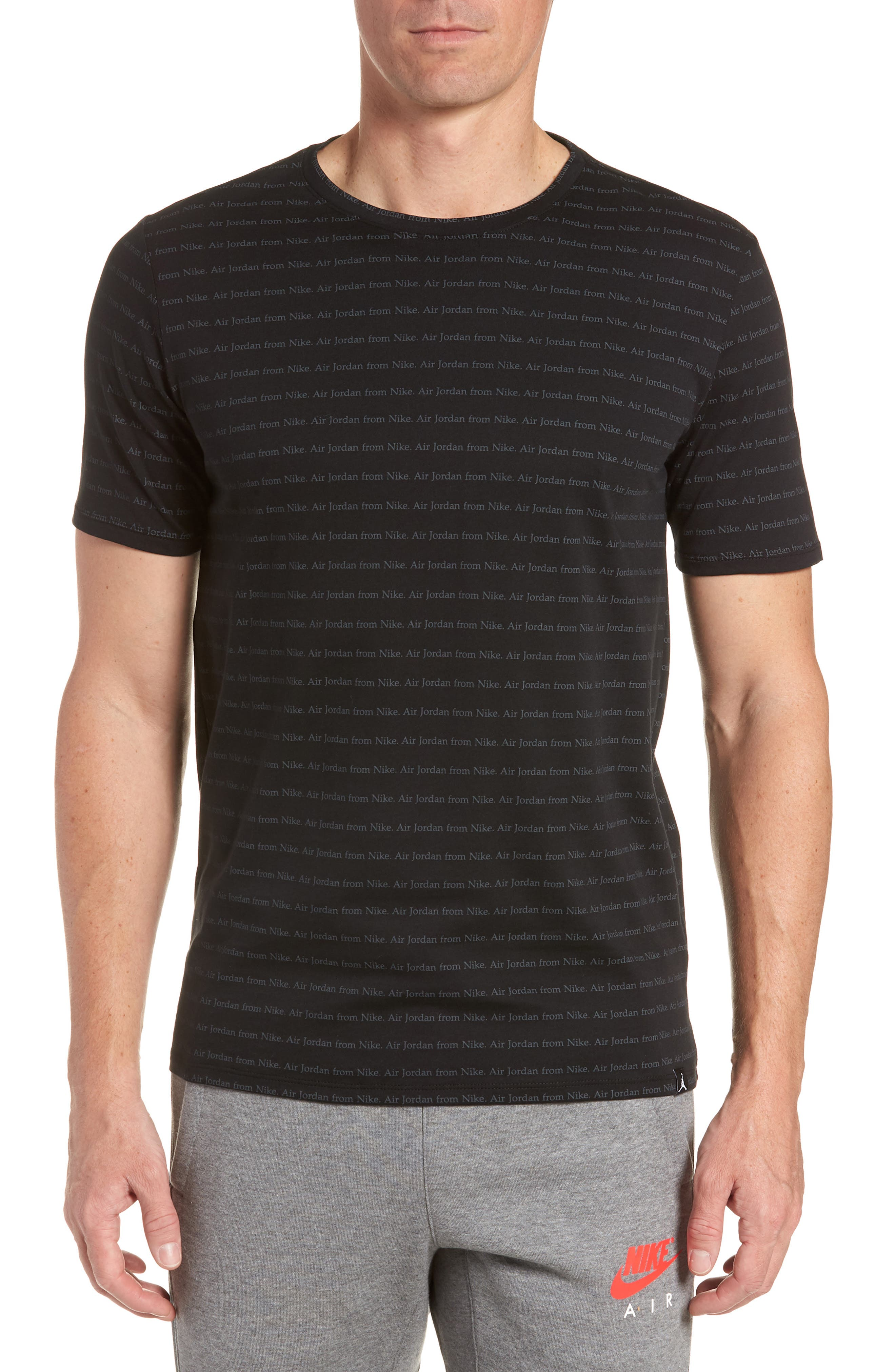 Sportswear T-Shirt,                         Main,                         color, Black