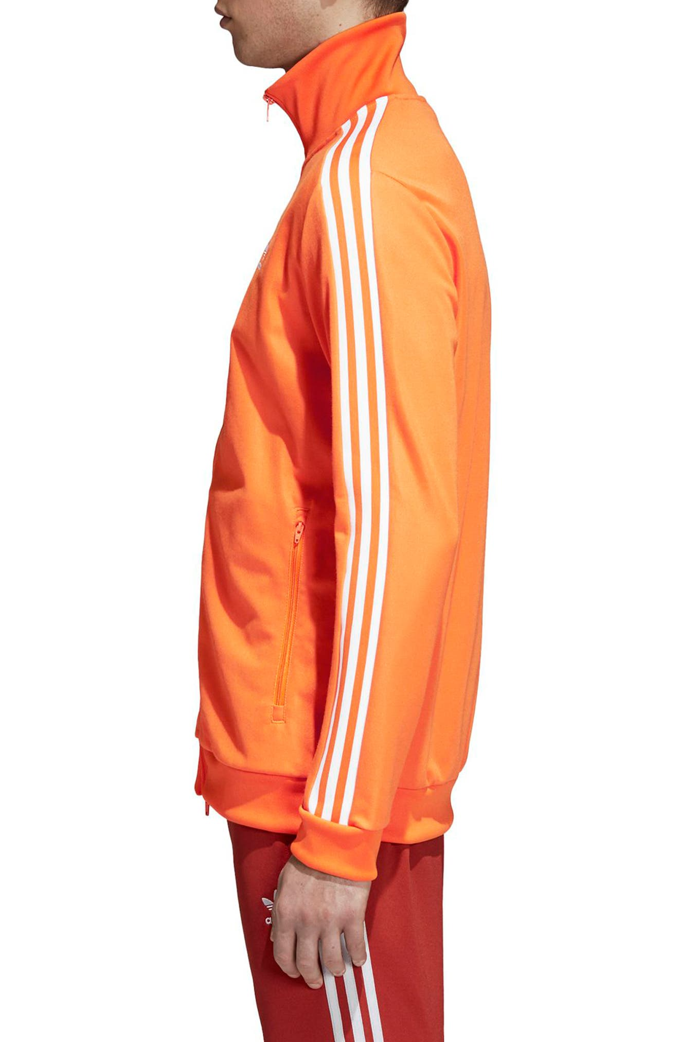 BB Track Jacket,                             Alternate thumbnail 3, color,                             Bright Orange