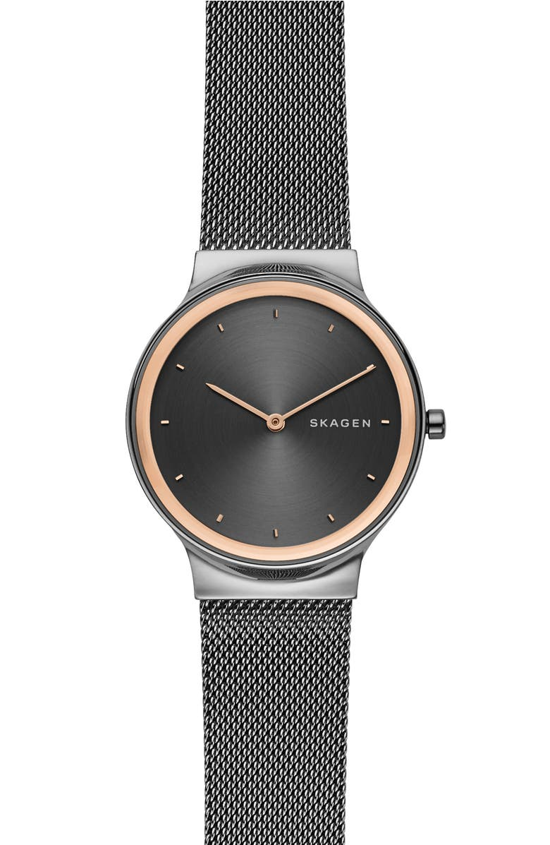 Skagen FREJA MESH STRAP WATCH, 34MM