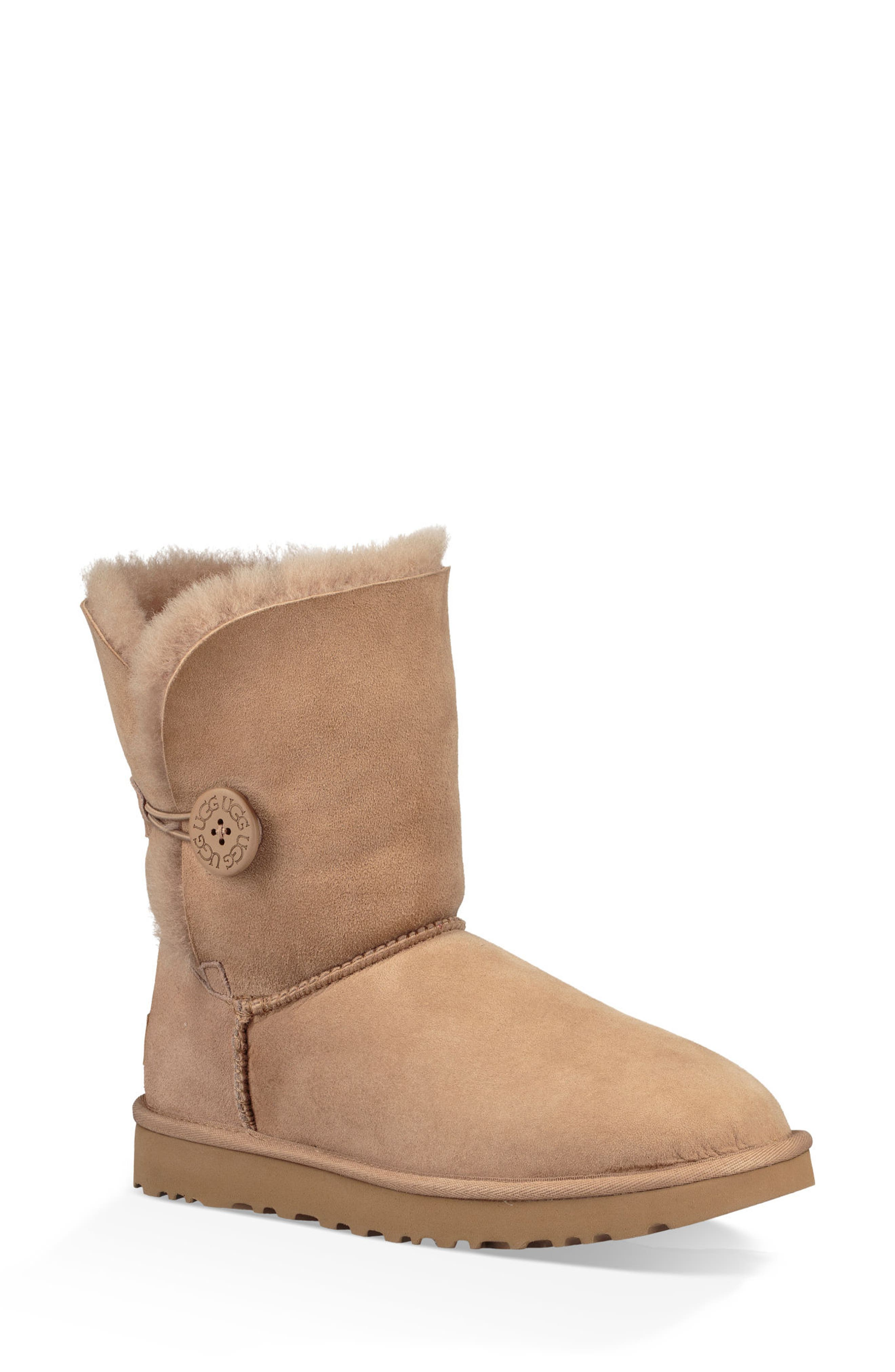 'Bailey Button II' Boot,                             Main thumbnail 1, color,                             Fawn Suede