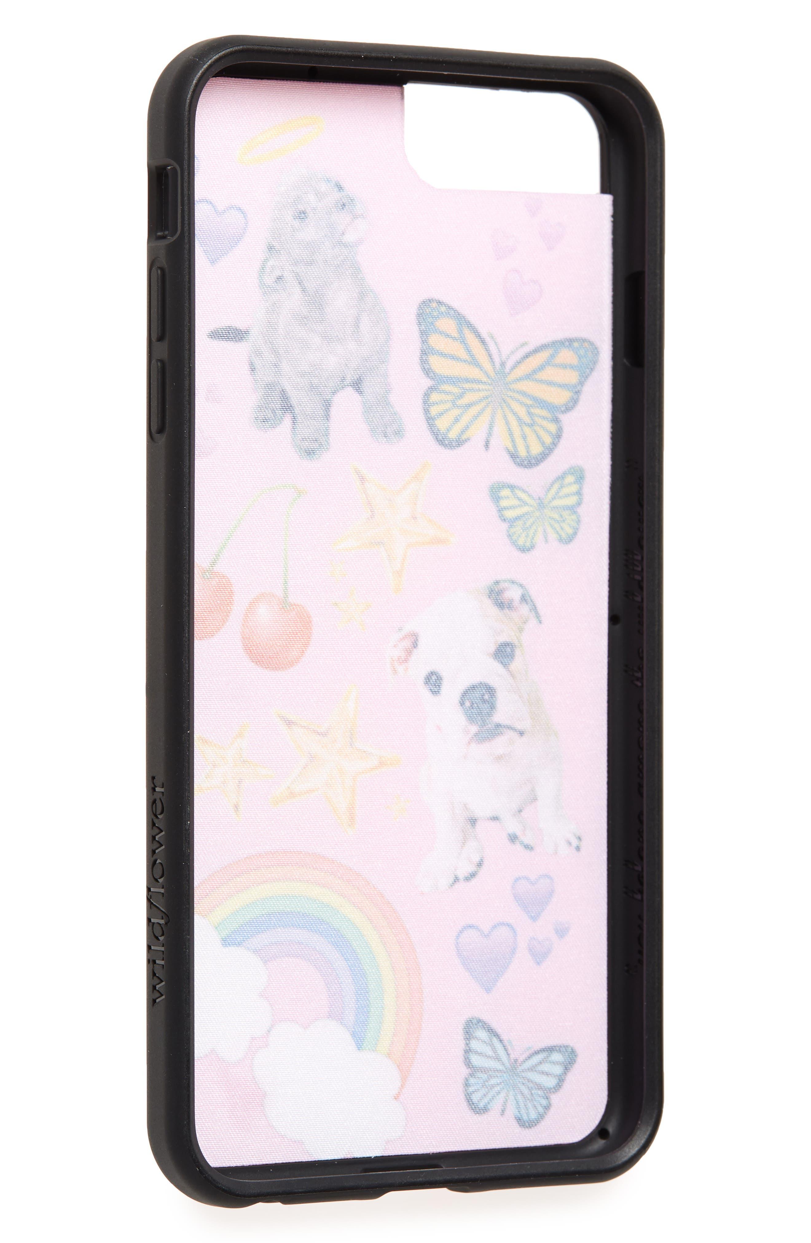 Puppy Love iPhone 6/7/8 Plus Case,                             Alternate thumbnail 2, color,                             Pink Multi