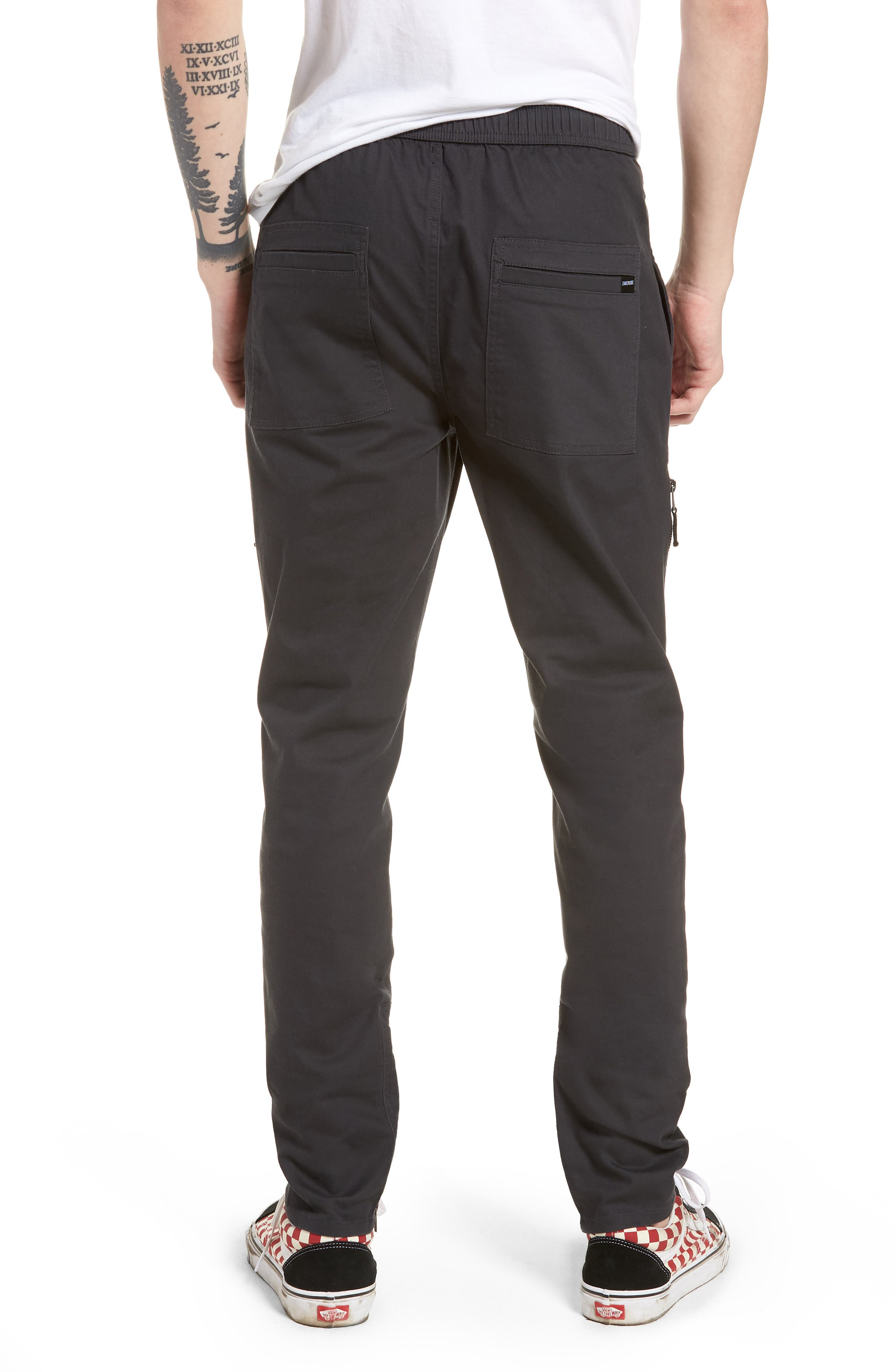 Blockshot Jogger Pants,                             Alternate thumbnail 2, color,                             Vintage Black/ Black