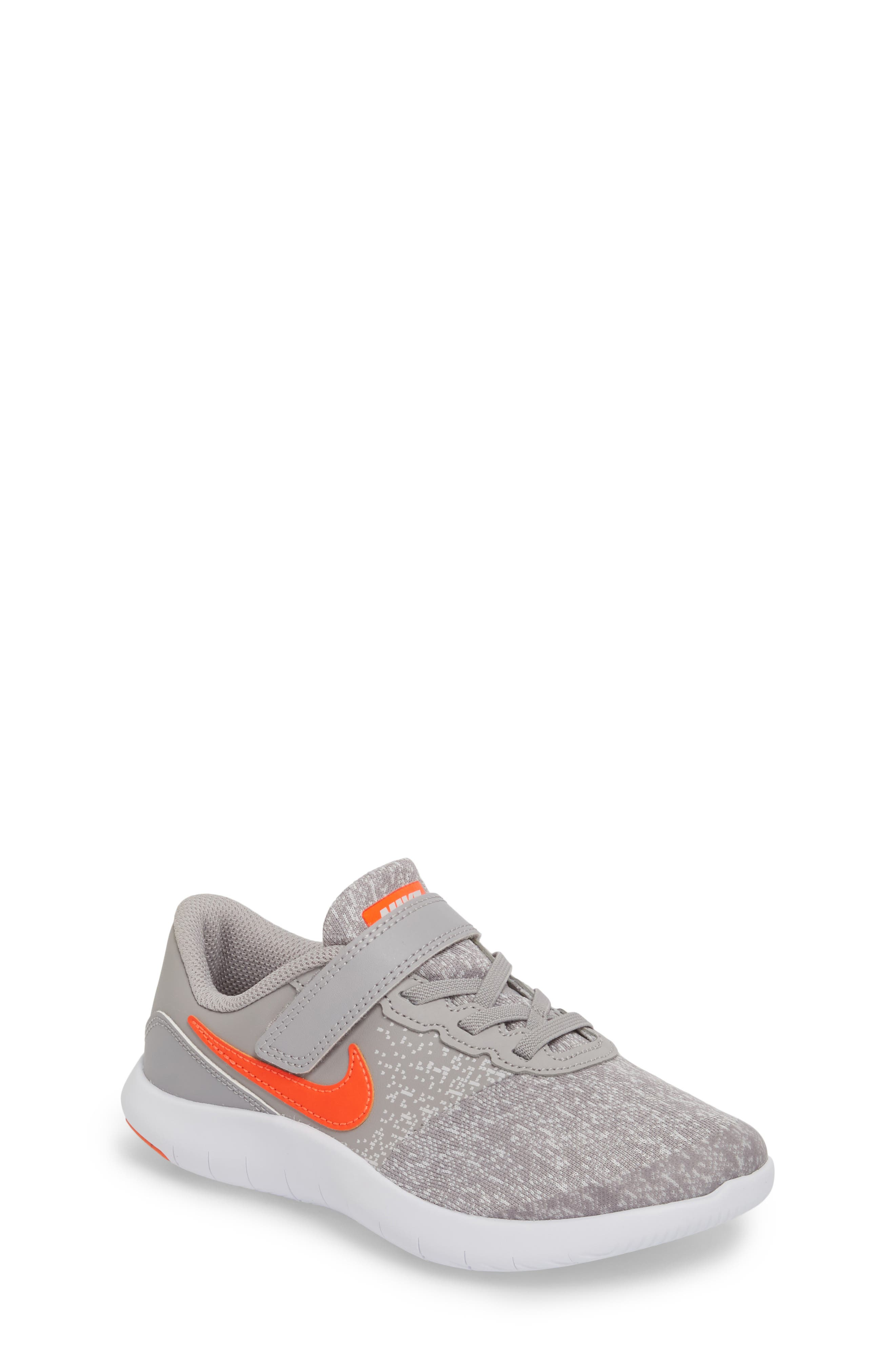 Flex Contact Running Shoe,                             Main thumbnail 2, color,                             Atmosphere Grey/ Total Crimson