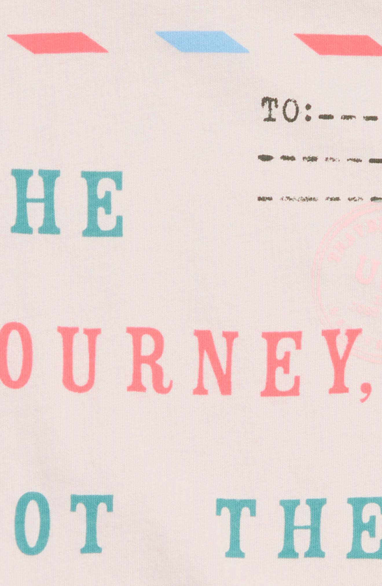 The Journey Graphic Tee,                             Alternate thumbnail 3, color,                             Ivory